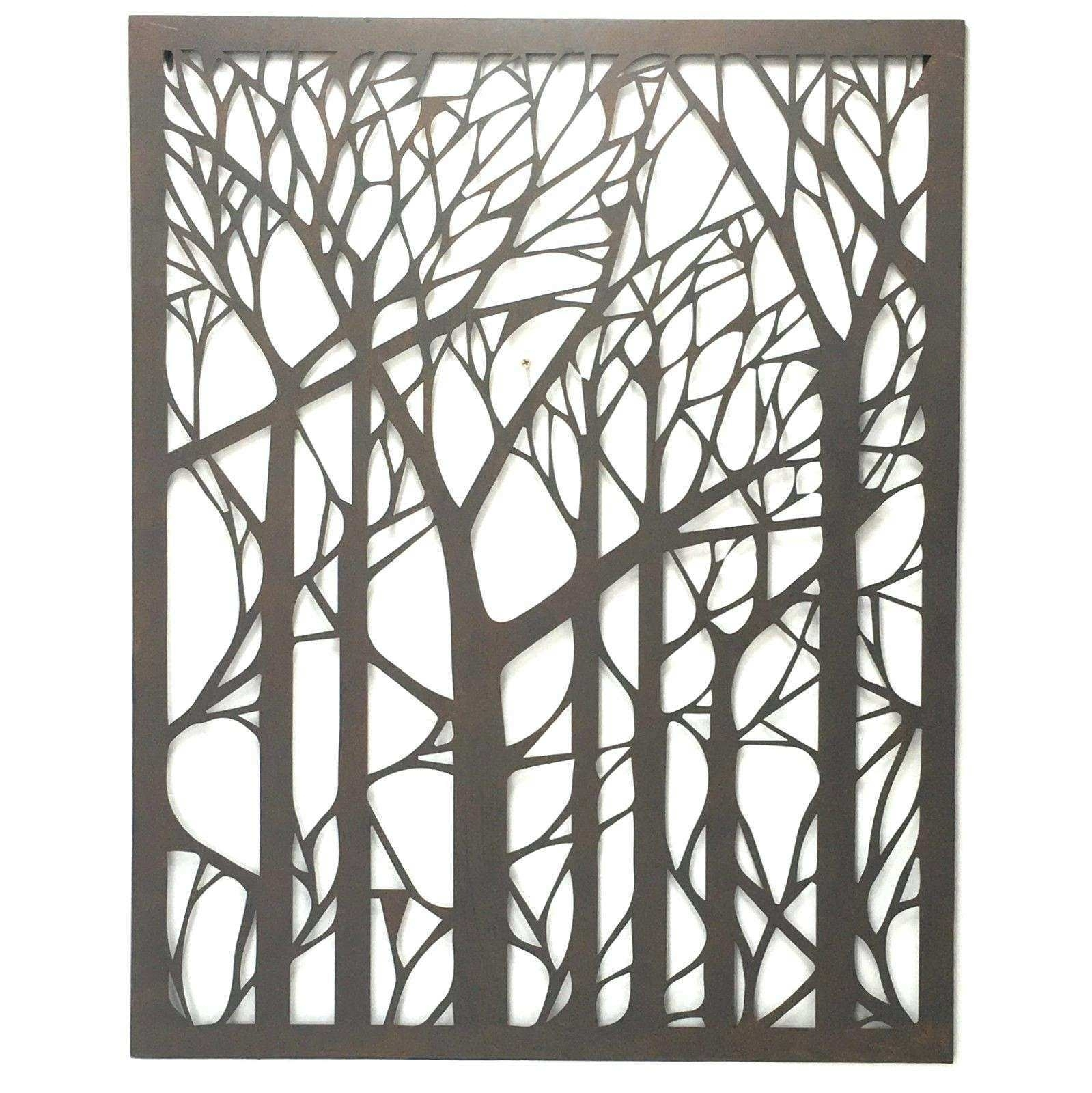 Large Outdoor Wall Decor Awesome 20 Best Metal Wall Art For Outdoors intended for Outdoor Wall Art (Image 8 of 20)