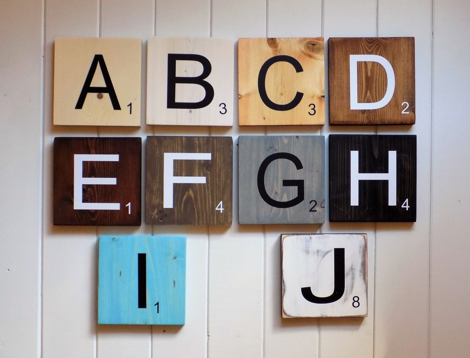 Large Scrabble Tiles, Scrabble Tiles, Scrabble Wall Art, Gallery Throughout Scrabble Wall Art (View 11 of 20)