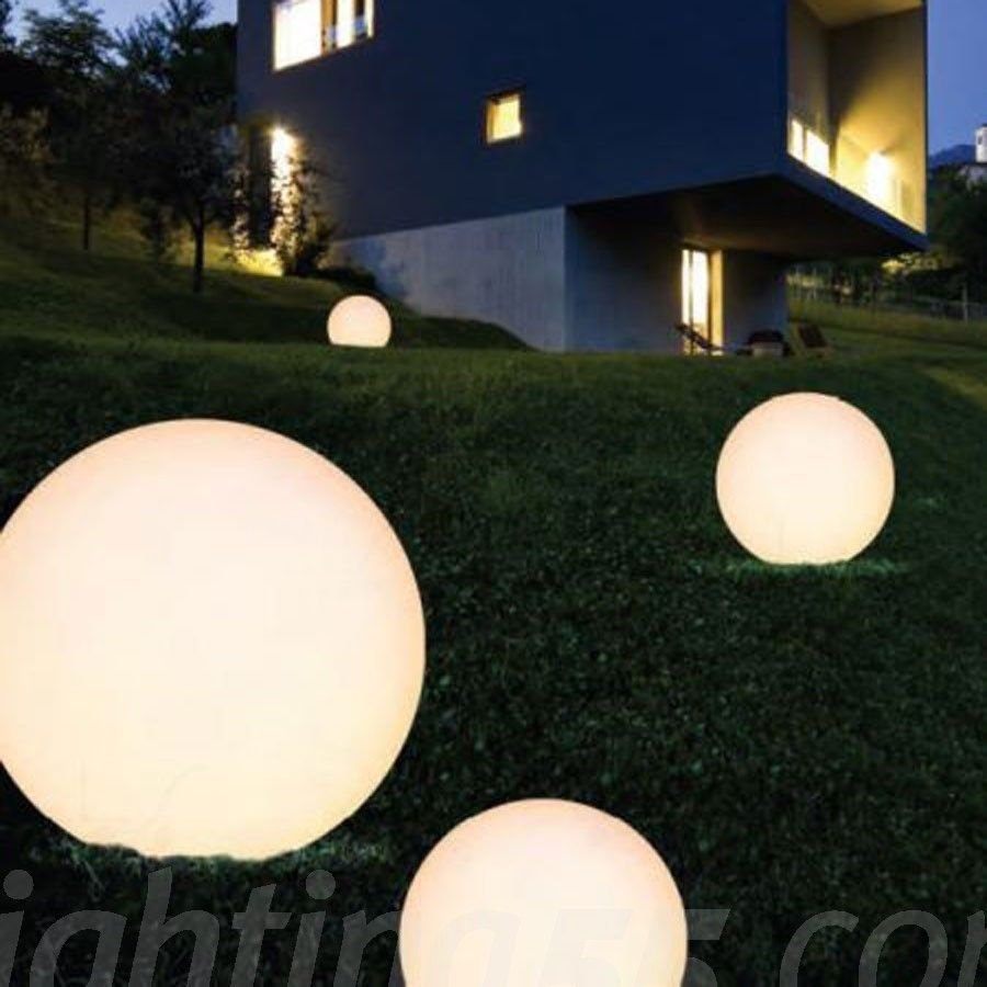 Large Spherical Lights On Ground – Google Search | Activate Public Throughout Outdoor Ground Lanterns (View 10 of 20)