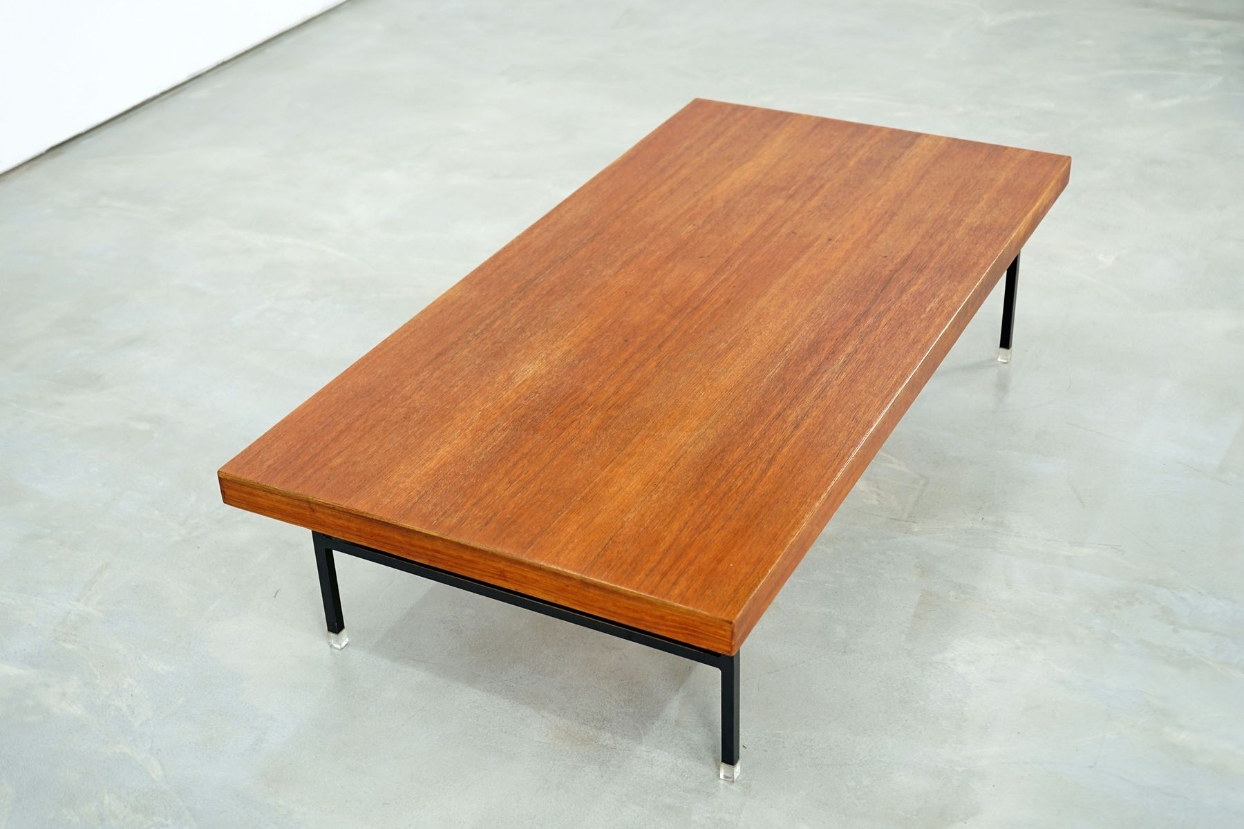 Large Teak Coffee Table, 1960S For Sale At Pamono throughout Large Teak Coffee Tables (Image 15 of 30)