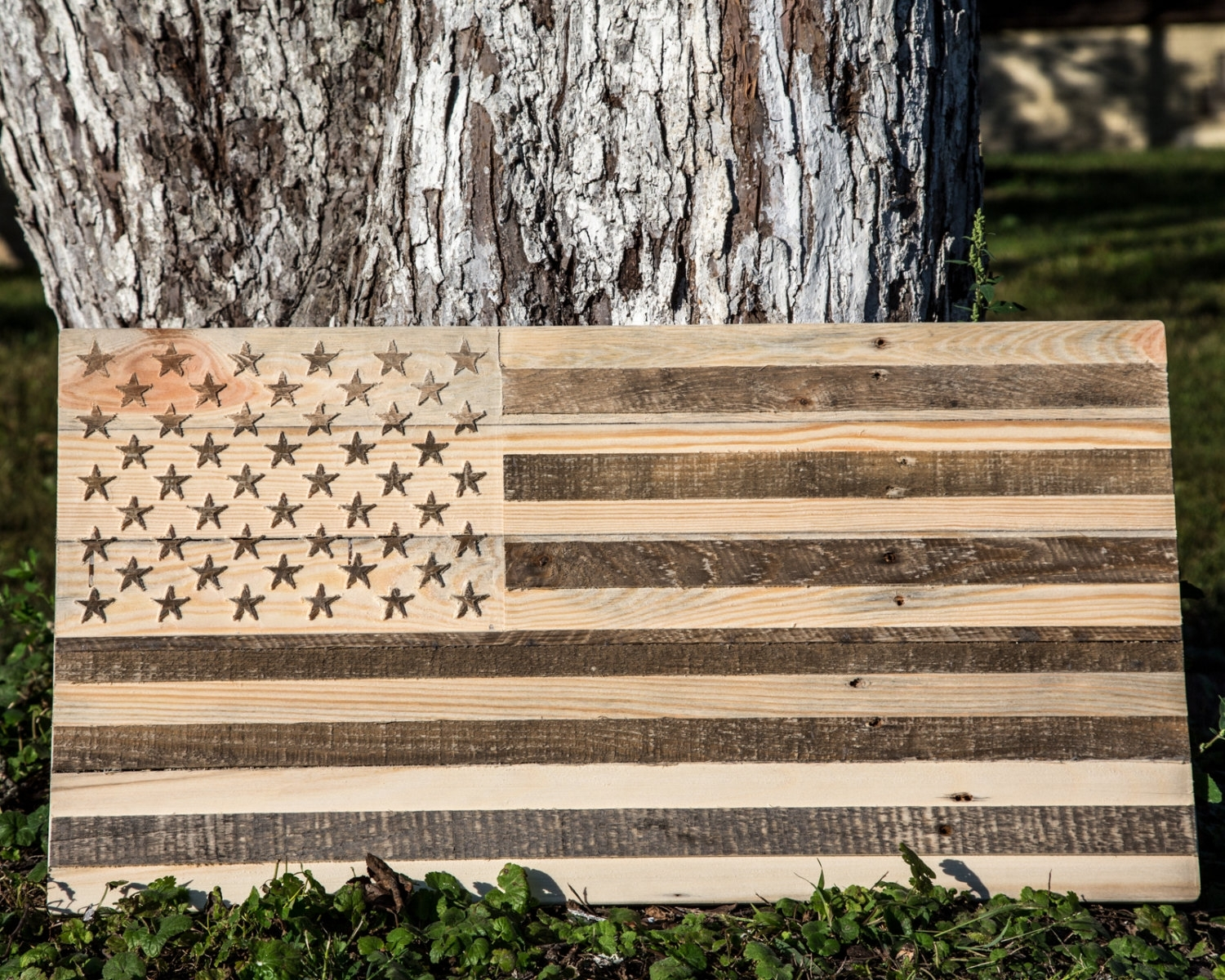 Large Usa Wood Wall Art // Carved Retro American Flag Wooden Wall with Vintage American Flag Wall Art (Image 12 of 20)
