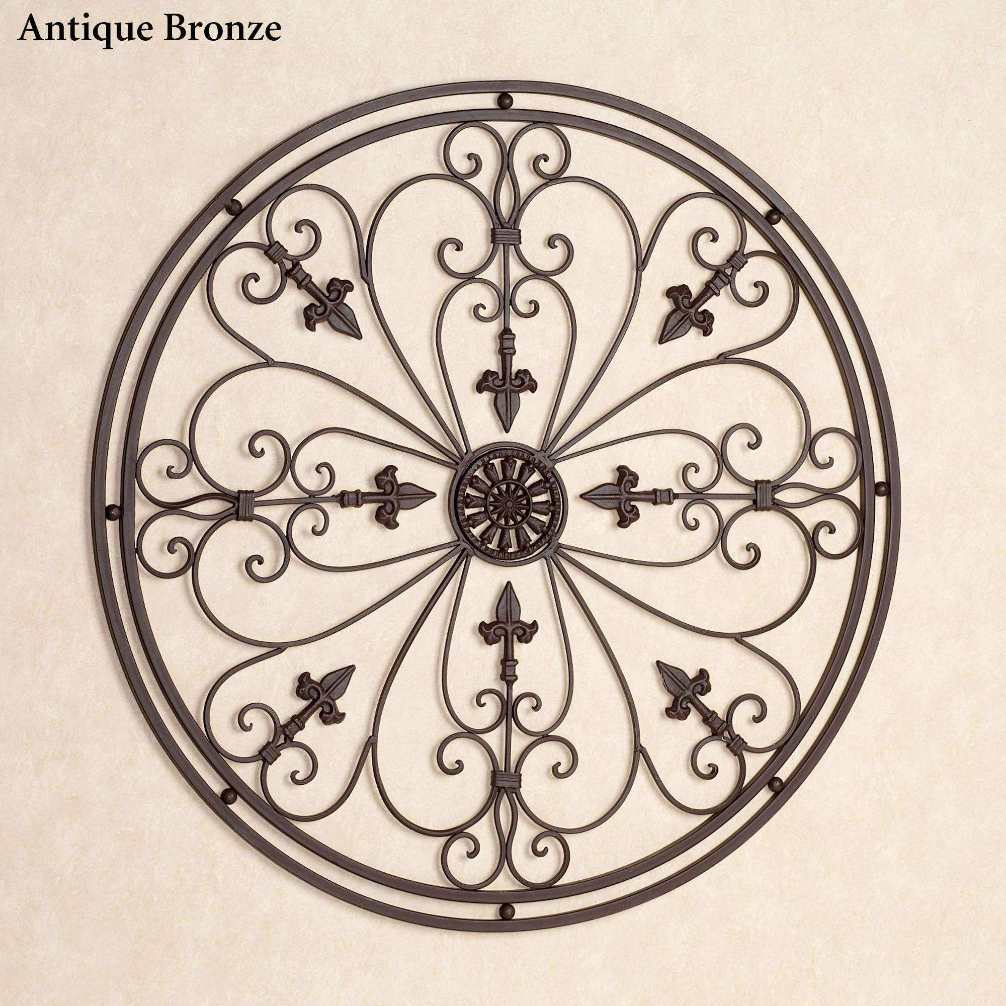 Large Wrought Iron Wall Decor Awesome Wrought Iron Wall Decor Metal Throughout Wrought Iron Wall Art (View 18 of 20)