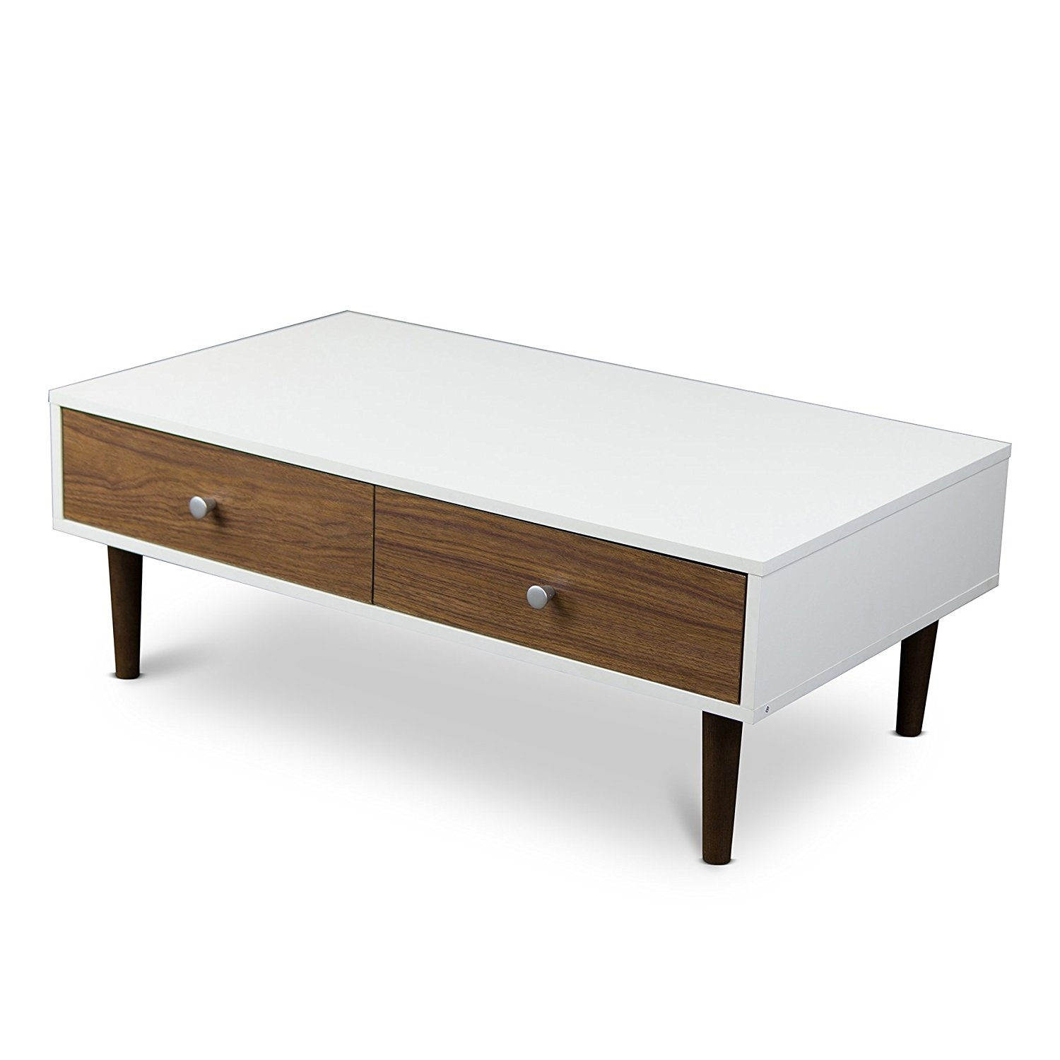 Latest Design White High Gloss Mdf Storage Coffee Table For Sale in Stack Hi-Gloss Wood Coffee Tables (Image 18 of 30)