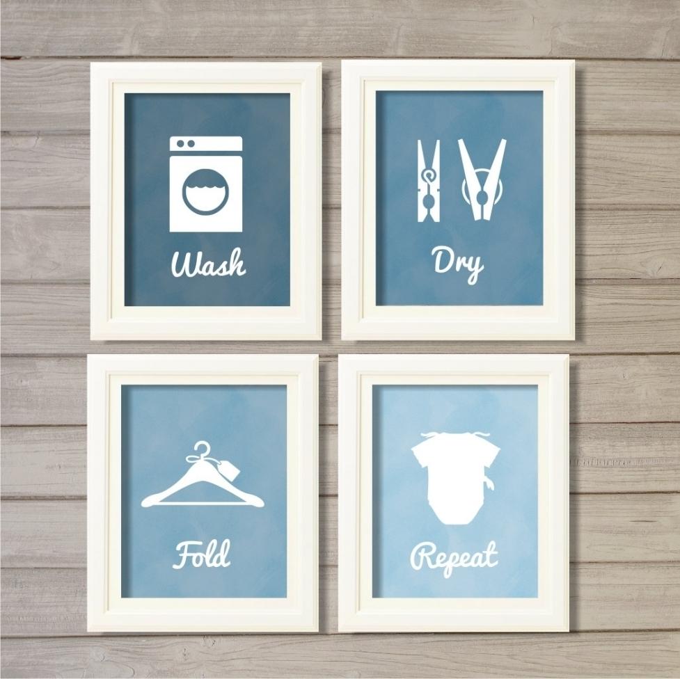 Laundry Room Wall Art Decor | The Laundry Room With Laundry Room Wall Art (View 15 of 20)