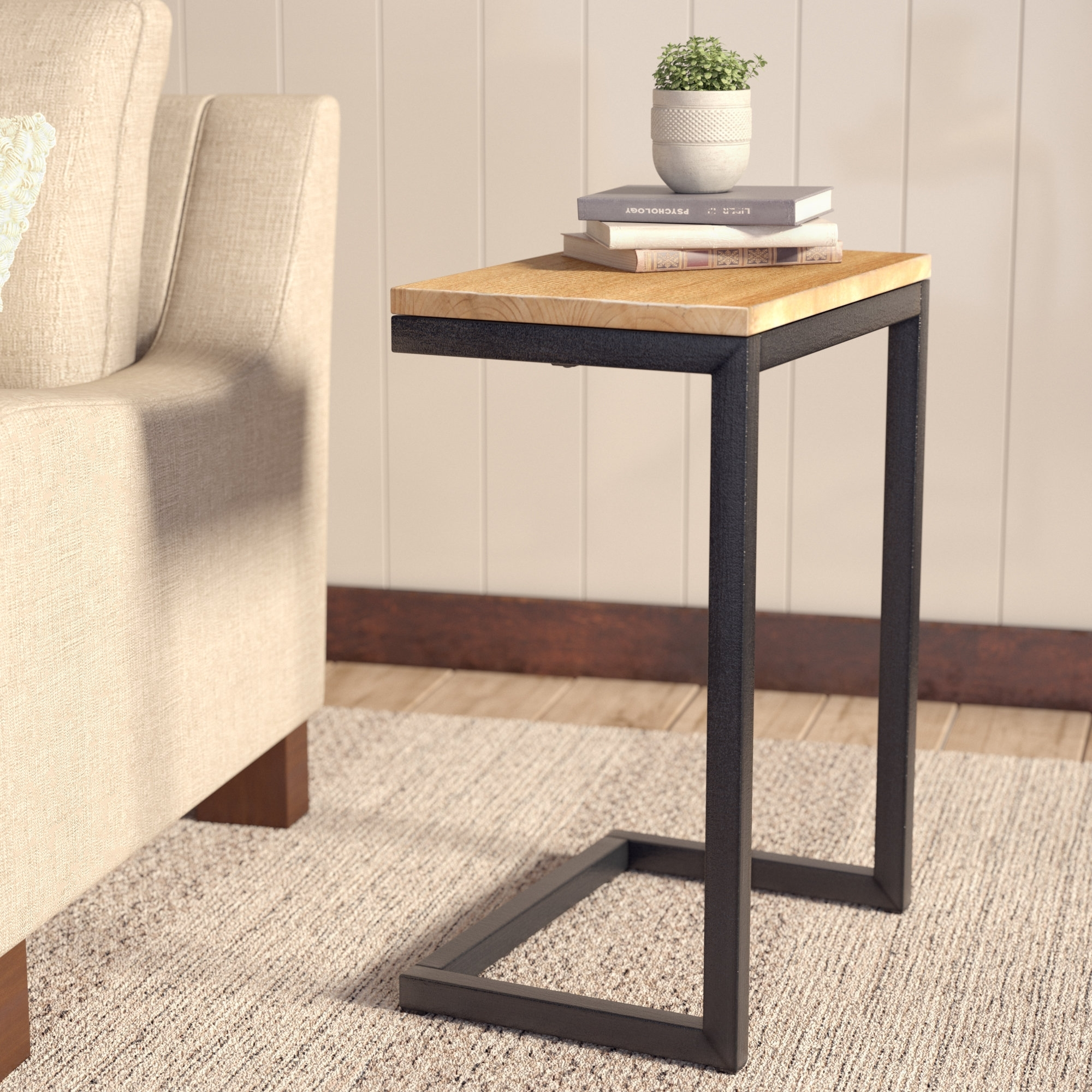 Laurel Foundry Modern Farmhouse Nayara Antique End Table & Reviews Within Large Scale Chinese Farmhouse Coffee Tables (View 20 of 30)