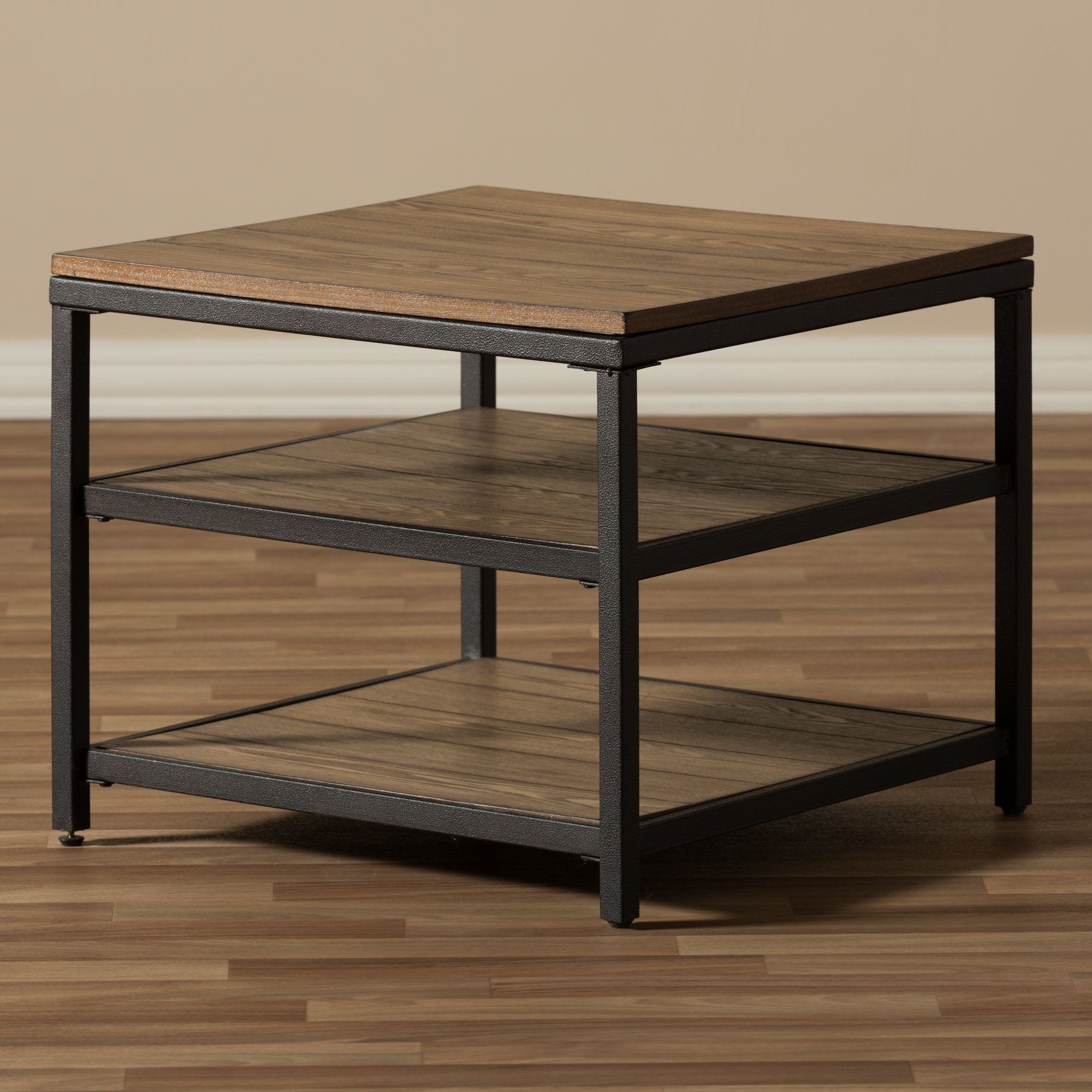 Laurel Foundry Modern Farmhouse Schmitt End Table & Reviews | Wayfair for Large-Scale Chinese Farmhouse Coffee Tables (Image 22 of 30)