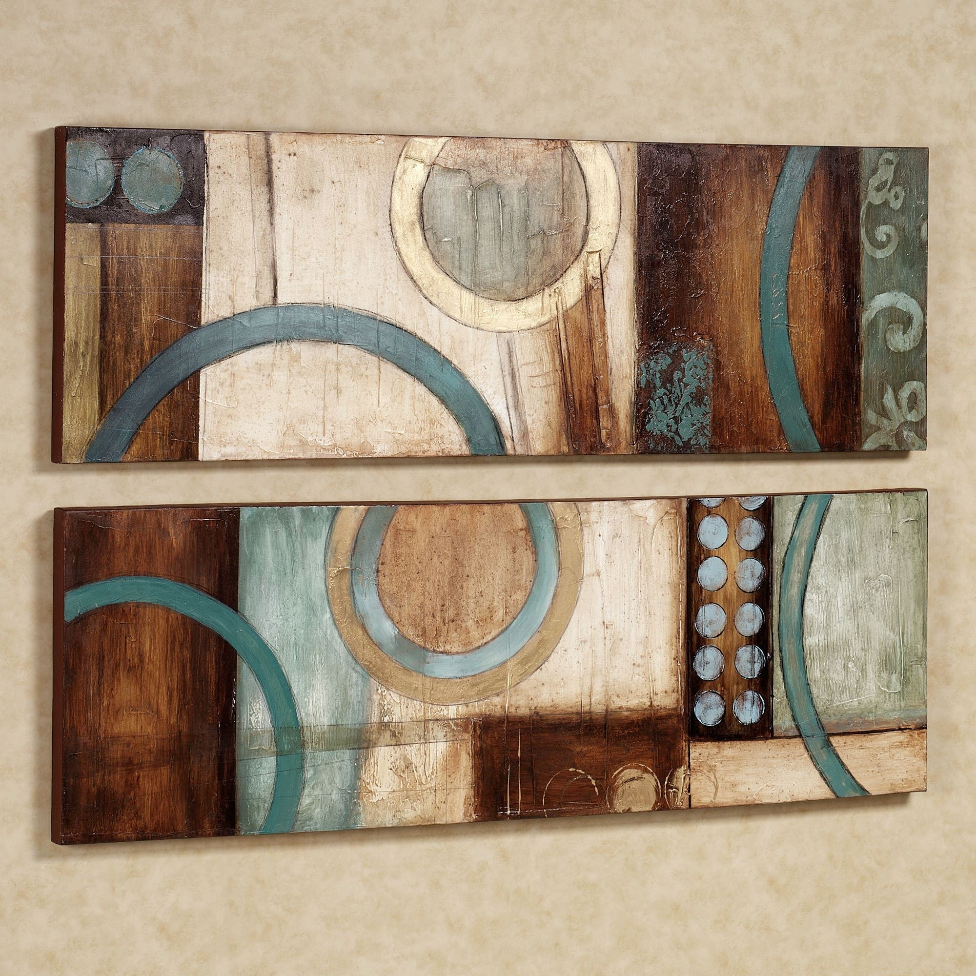 Lavare Canvas Wall Art Set intended for Abstract Canvas Wall Art (Image 12 of 20)
