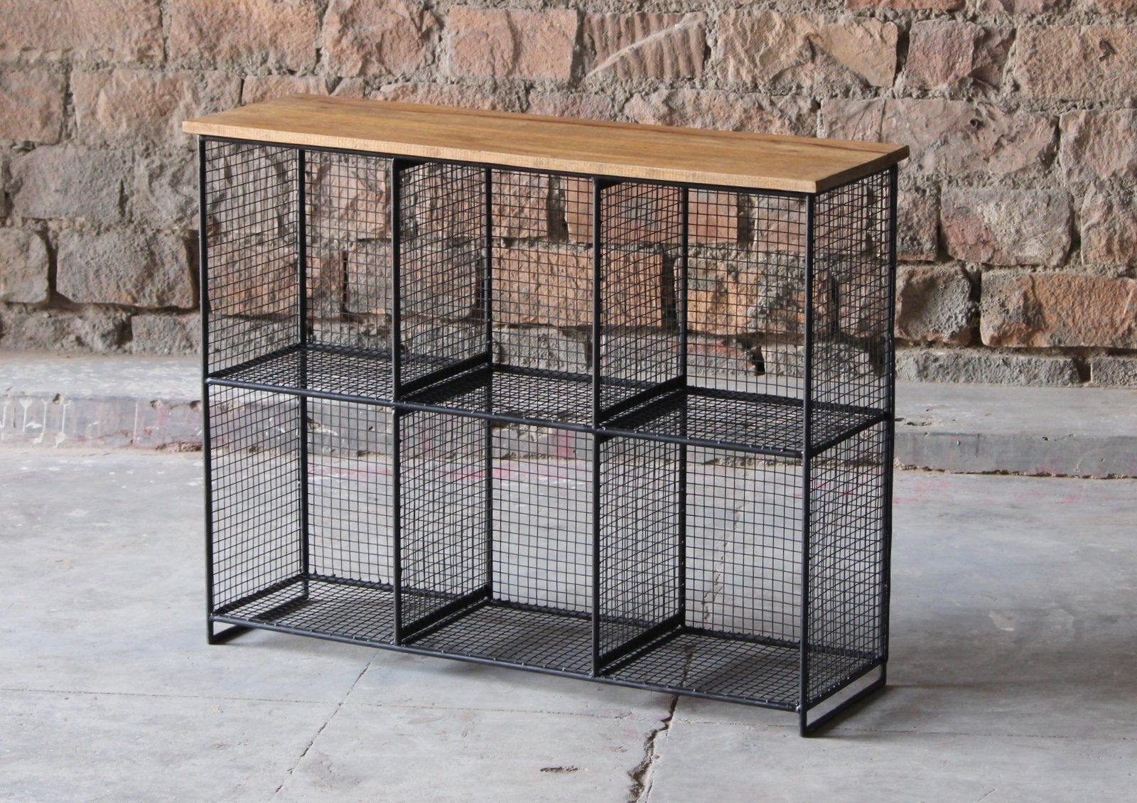 Layla Cube 6 Shelf Storage Unit | Little Tree Furniture intended for Aged Iron Cube Tables (Image 18 of 30)
