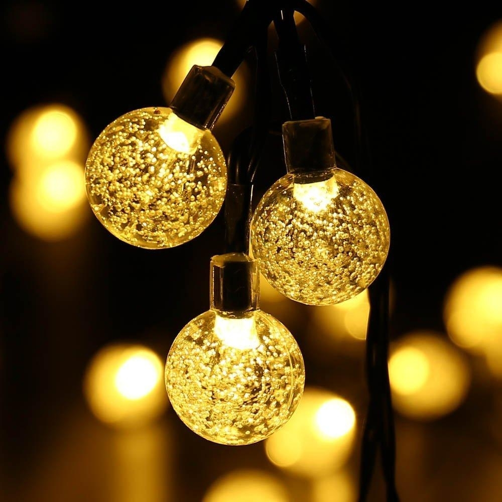 Led Outdoor Lights String - Outdoor Lighting Ideas in Outdoor Ball Lanterns (Image 8 of 20)