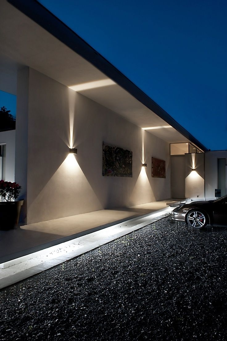 Led-Outdoor-Wall-Lights-Photo-15 | Lighting | Pinterest | Led within Outdoor House Lanterns (Image 11 of 20)