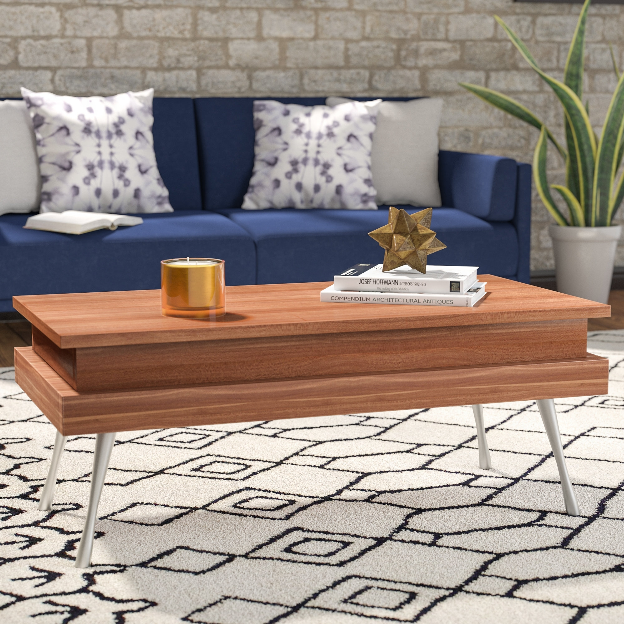 Lift Top Coffee Tables You'll Love | Wayfair Within Stately Acrylic Coffee Tables (View 18 of 30)