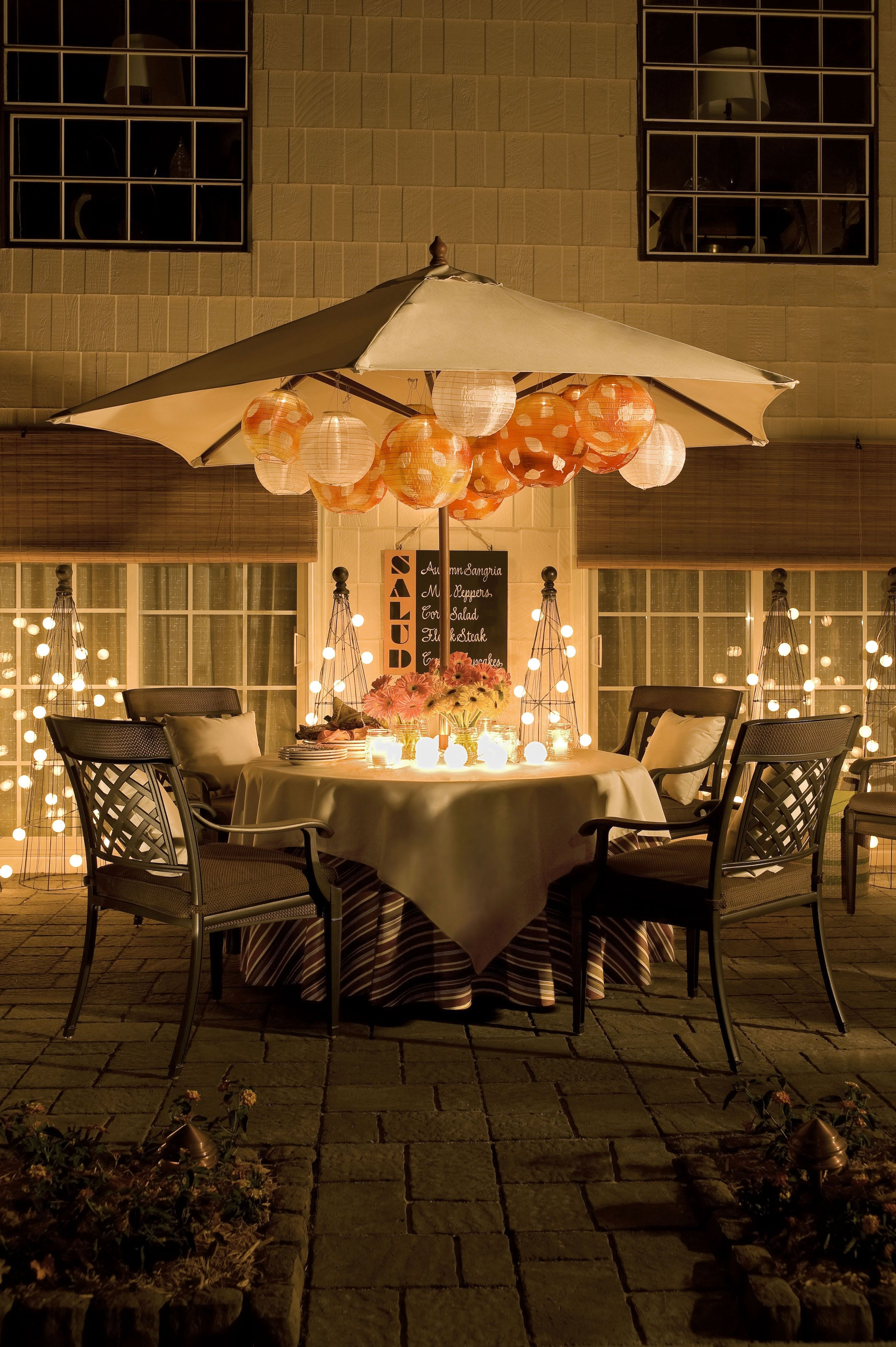 Light Up The Night! | Savor Summer! | Pinterest | Lights, Paper Throughout Outdoor Paper Lanterns For Patio (View 4 of 20)