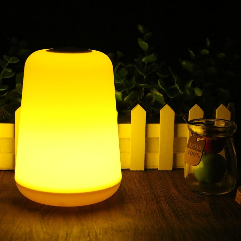 Light Weight Portable Camping Light Lantern 2 Part White Yellow pertaining to Yellow Outdoor Lanterns (Image 14 of 20)