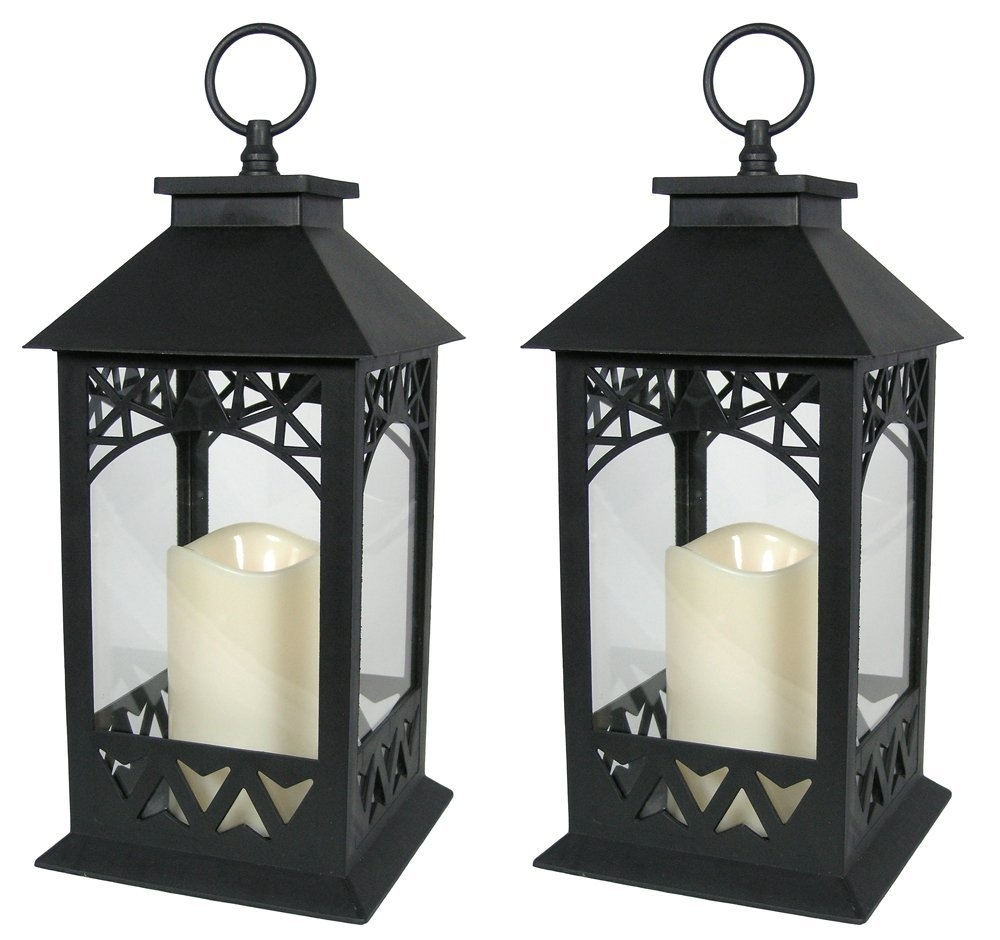 Lighting: Brighten Up Your Space With Stunning Candle Lanterns with Outdoor Lanterns With Timers (Image 11 of 20)