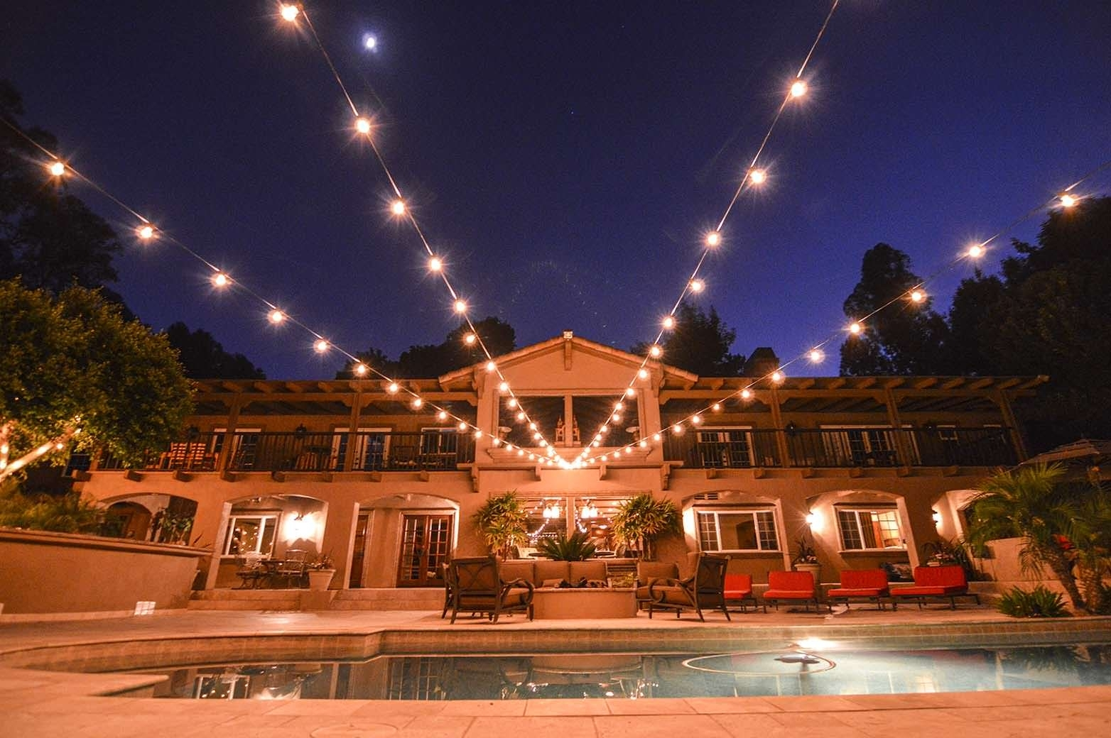 Lighting - Hanging Lights - Av Party Rental with regard to Outdoor Lanterns on String (Image 8 of 20)