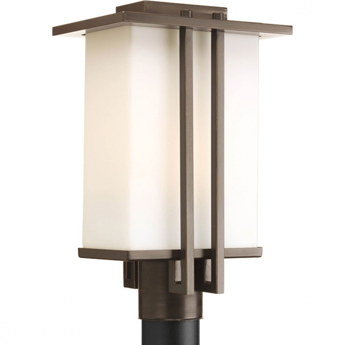 Lighting: Modern Outdoor Lamp Post Lights • Outdoor Lighting for Outdoor Lanterns on Post (Image 11 of 20)
