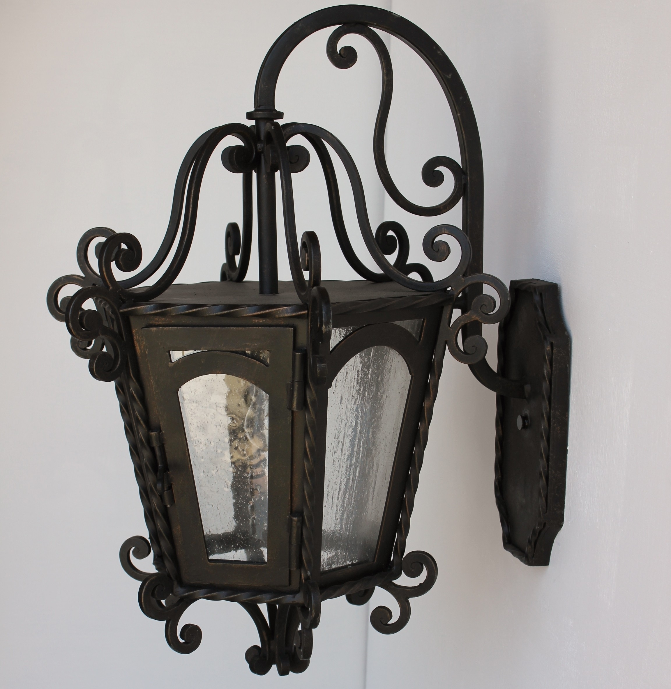 Lights Of Tuscany Outdoor/exterior Wall Lighting - Outdoor/exterior for Outdoor Iron Lanterns (Image 14 of 20)