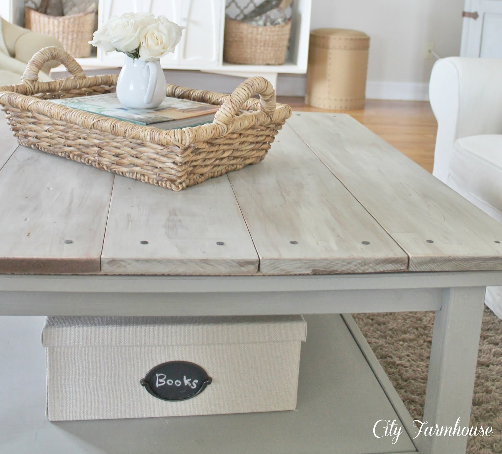 Lime Wash Coffee Table - Writehookstudio with regard to Limewash Coffee Tables (Image 8 of 30)