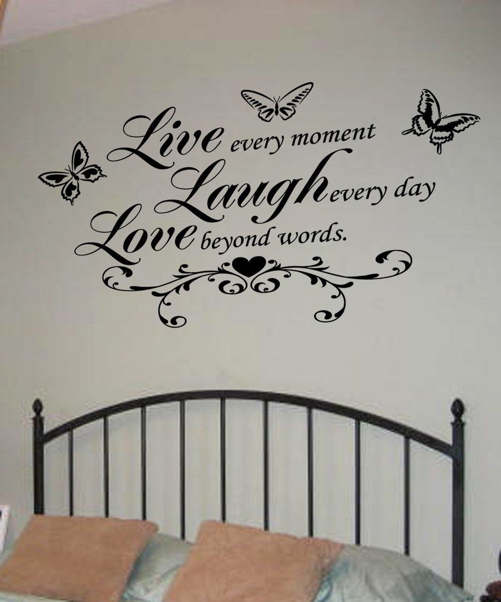 Live Laugh Love Wall Art Decal   Wall Decal   Wall Art Decal For Live Laugh Love Wall Art (View 3 of 20)