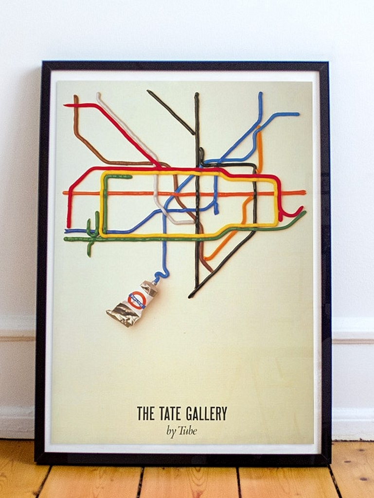 London Vintage And Retro Posters | London Transport Museum Shop Pertaining To Tube Map Wall Art (View 15 of 20)