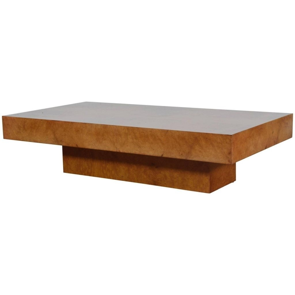 Long Low Coffee Table | Thesocialworkernovel. pertaining to Oslo Burl Wood Veneer Coffee Tables (Image 18 of 30)