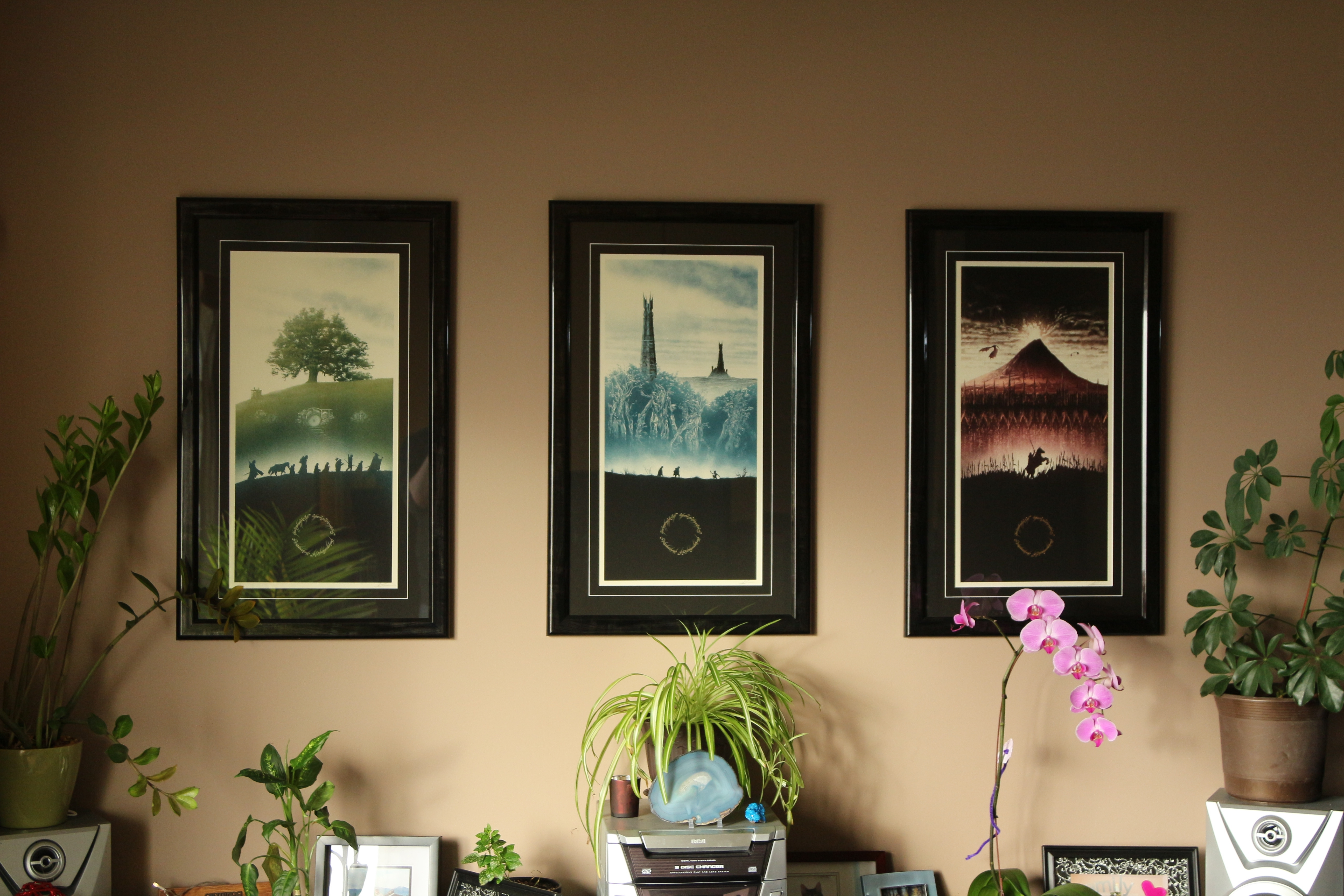 Lord Of The Rings Art Prints - Imgur throughout Lord Of The Rings Wall Art (Image 9 of 20)