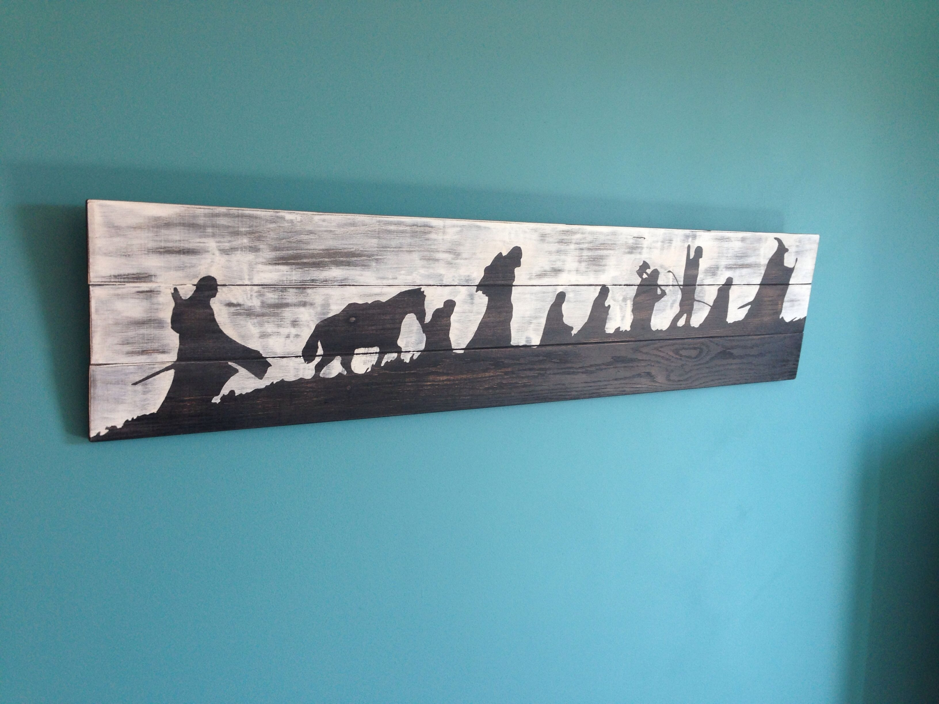 Lord Of The Rings Wall Art | Diy And My House | Pinterest | Lord throughout Lord of the Rings Wall Art (Image 13 of 20)