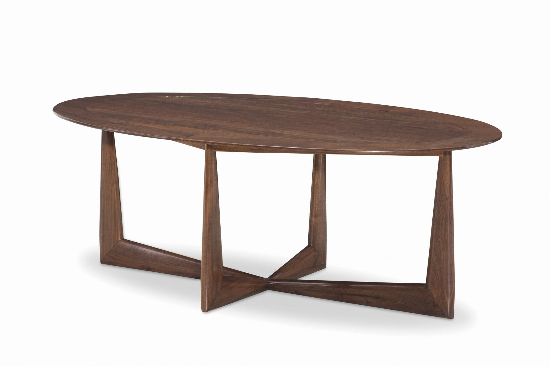 Loren Walnut Cocktail Table | 45 S Battery | Pinterest regarding Parker Oval Marble Coffee Tables (Image 9 of 30)
