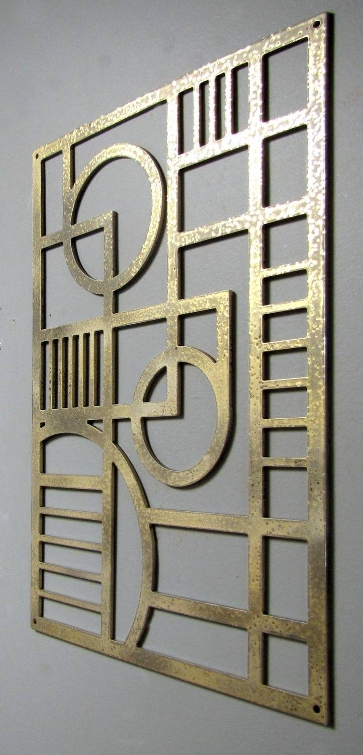 Lovely Art Deco Wall Art – Kunuzmetals For Art Deco Wall Art (View 3 of 20)