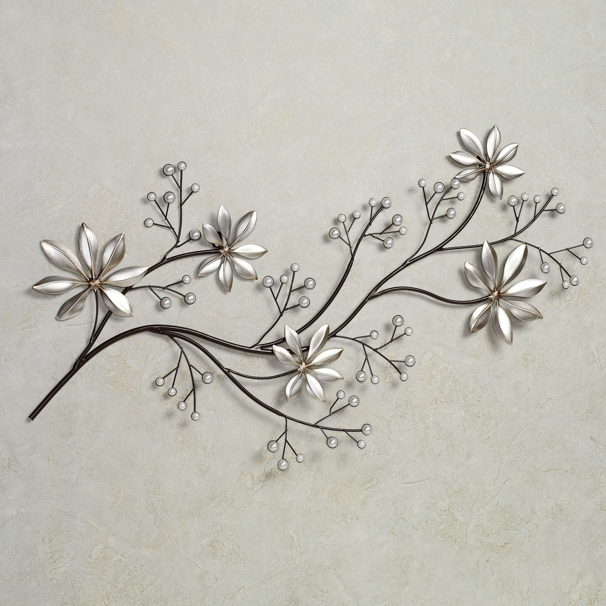 Lovely Metal Flower Wall Art – Kunuzmetals Throughout Metal Flower Wall Art (View 5 of 20)