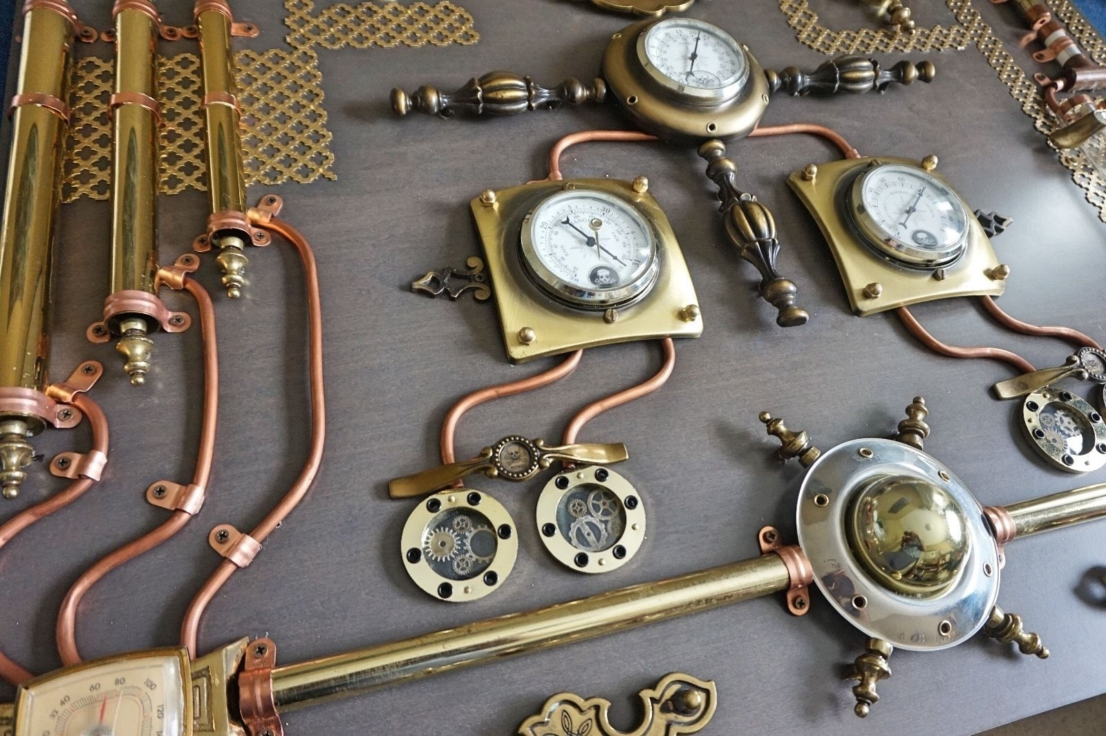 Lovely Steampunk Wall Art - Wall Decoration And Wall Art Ideas regarding Steampunk Wall Art (Image 9 of 20)