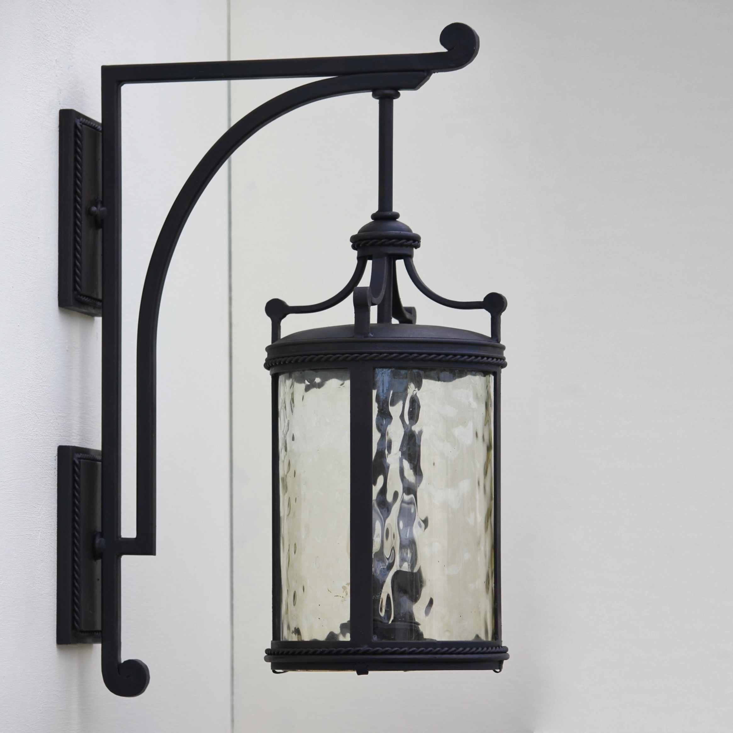 Lovely Wrought Iron Outdoor Light Fixtures — Bistrodre Porch And Pertaining To Outdoor Mexican Lanterns (View 11 of 20)