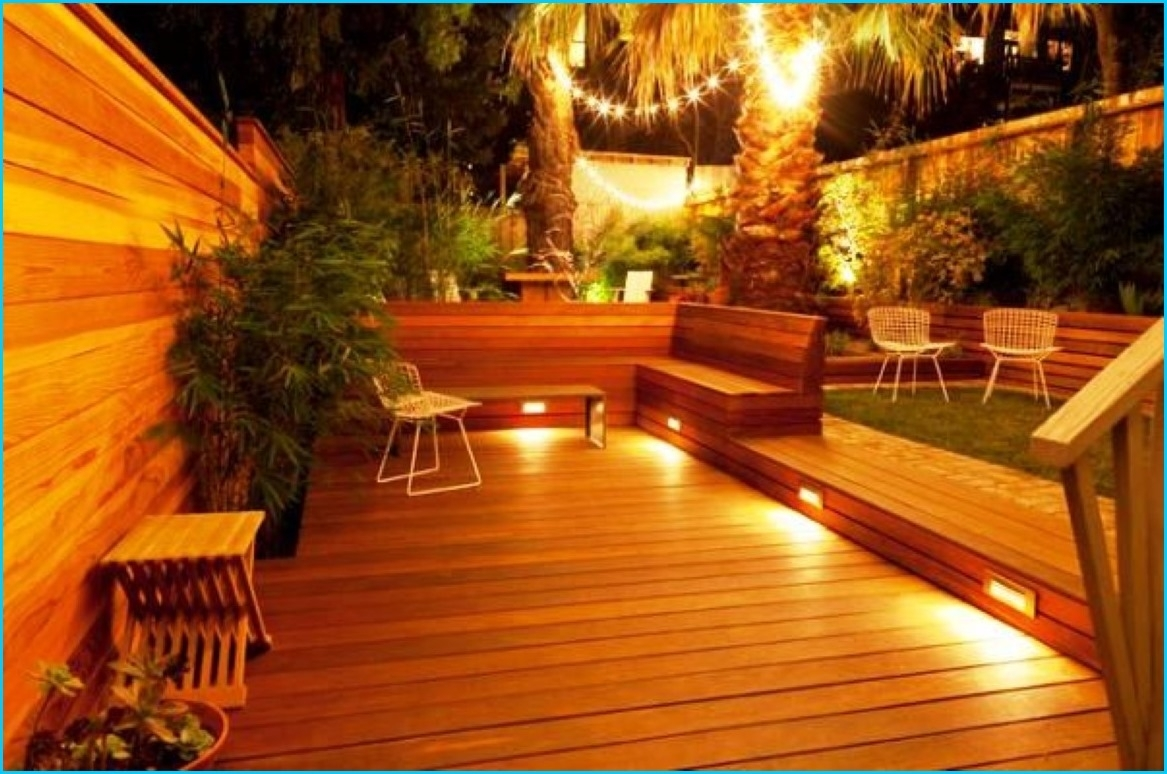 Low Voltage Led Outdoor Deck Lighting Ideas Cool 12 Volt Best in Outdoor Deck Lanterns (Image 9 of 20)