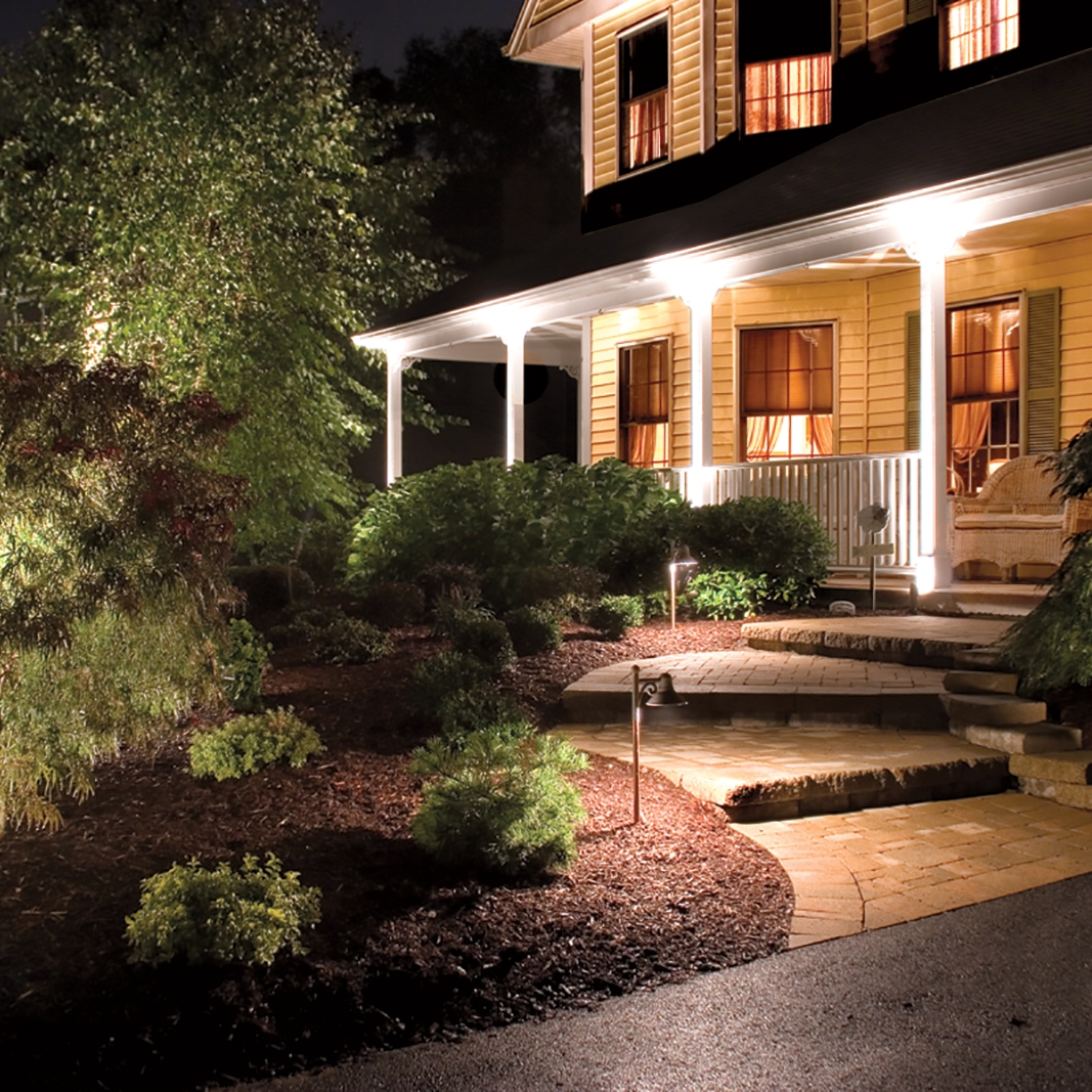 Lowes Outdoor Lighting White — Awesome House Lighting : Gorgeous throughout Outdoor Landscape Lanterns (Image 15 of 20)