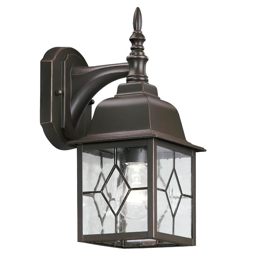 Lowes Outdoor Lights Wall Mounted Led Lighting Fixtures Door Ideas with regard to Outdoor Lanterns at Lowes (Image 6 of 20)
