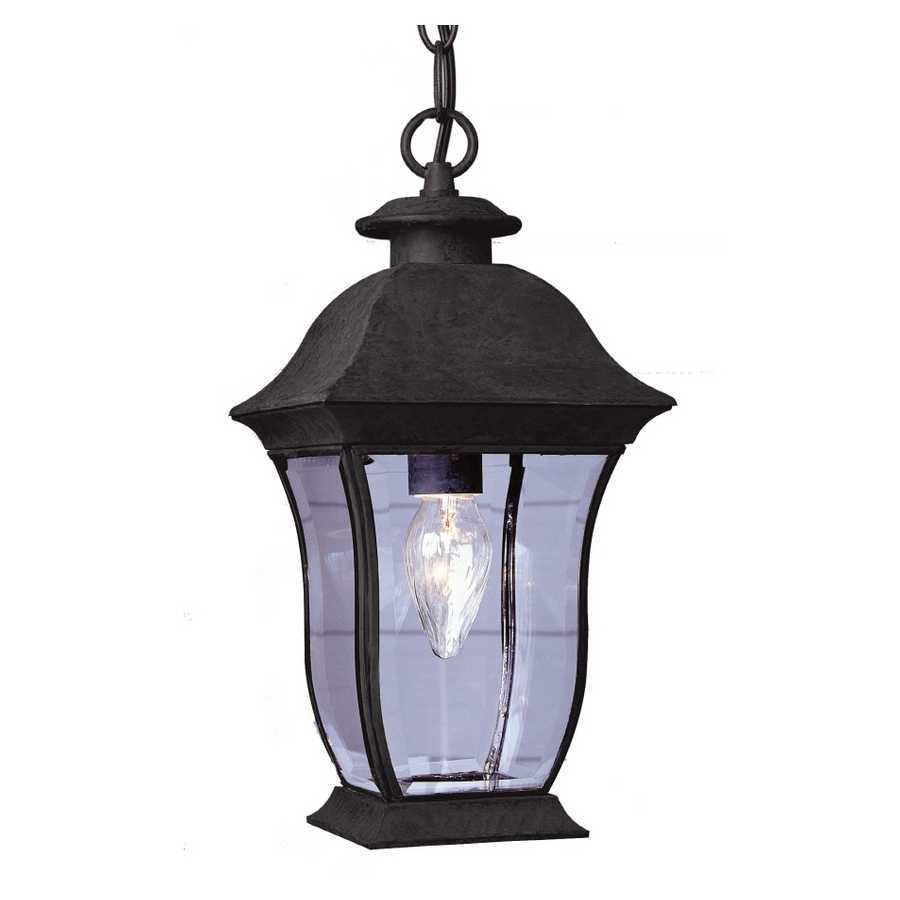 Lowes Patio Lights Shop Allen Roth 14 Ft Brown Indoor Outdoor String within Indoor Outdoor Lanterns (Image 13 of 20)