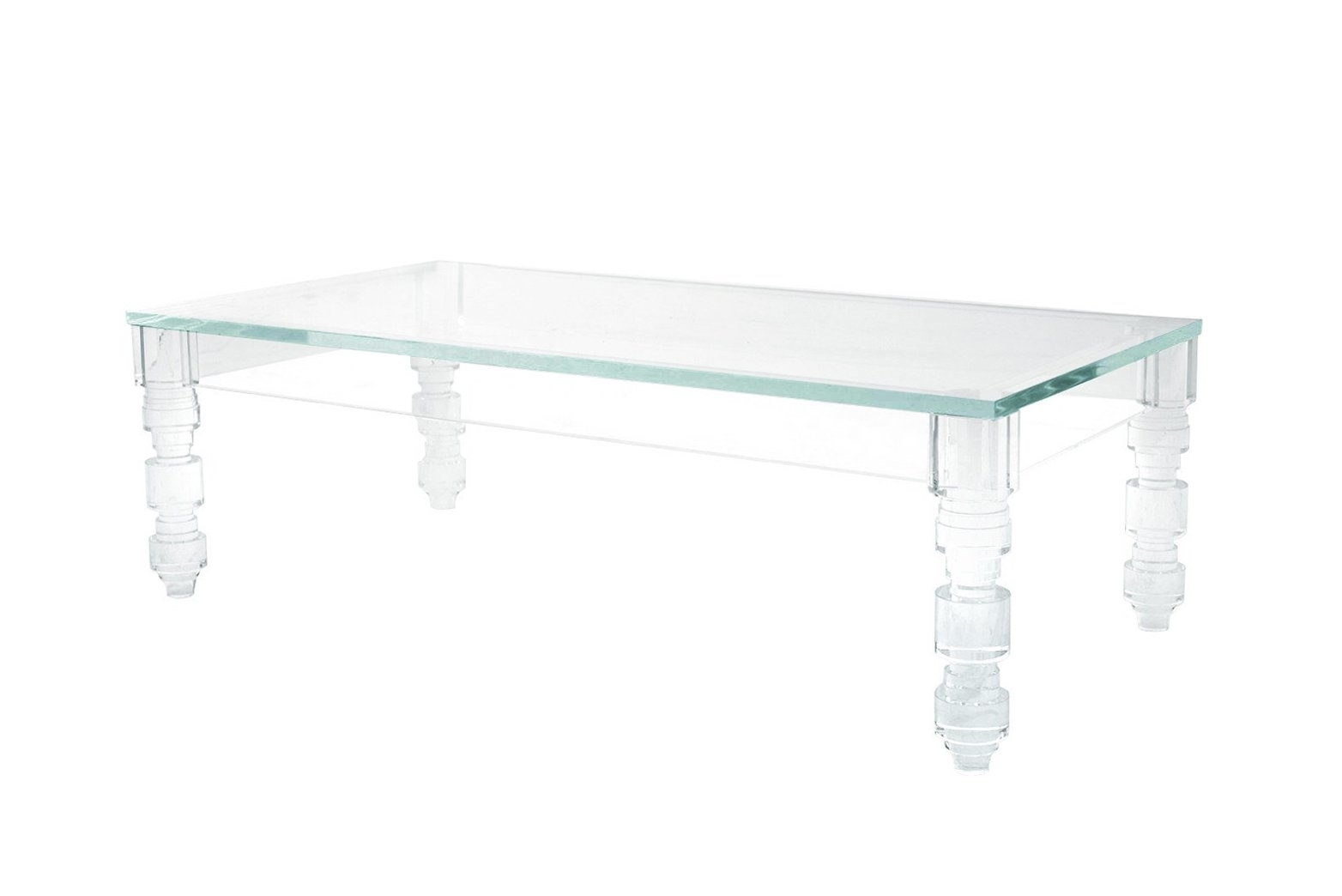 Lucite Coffee Table Brightens Your Interior - Darbylanefurniture regarding Peekaboo Acrylic Coffee Tables (Image 20 of 30)