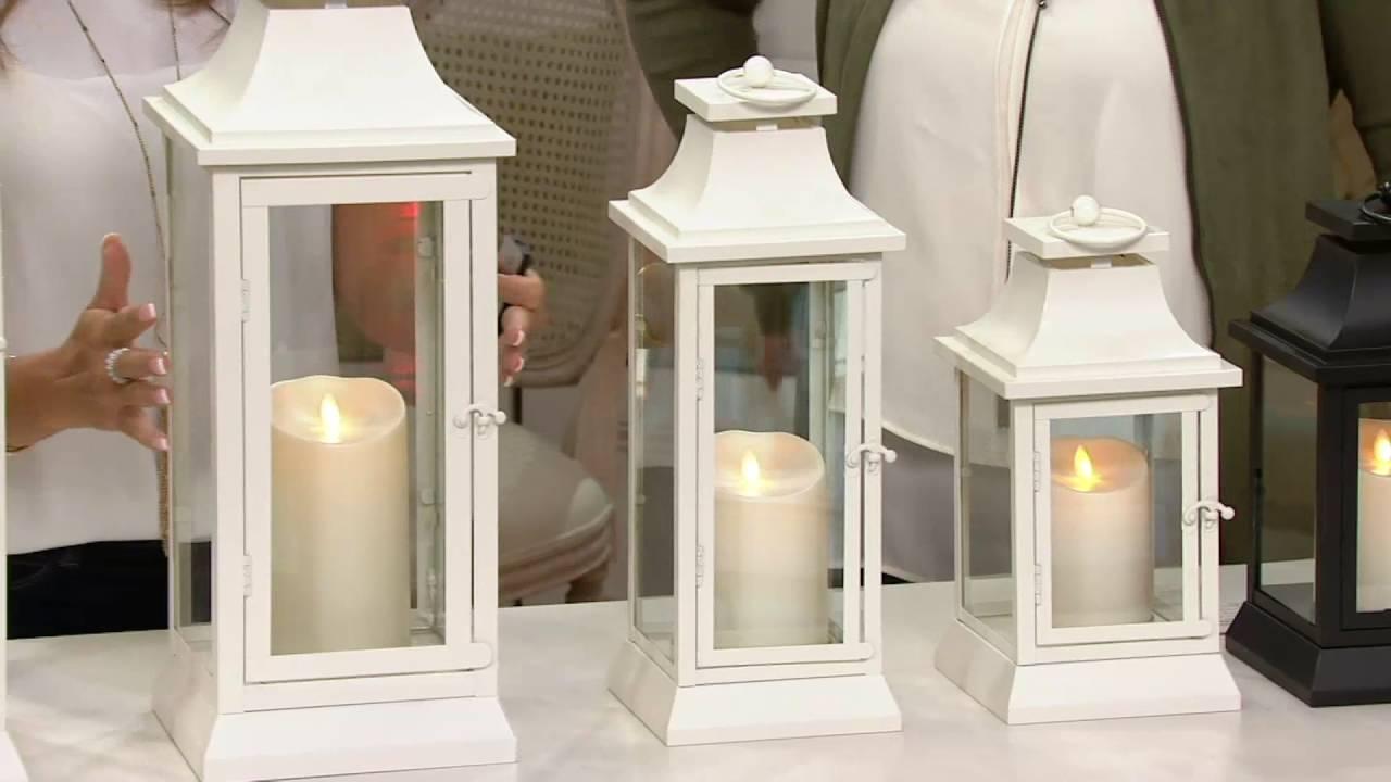 Luminara Heritage Indoor Outdoor Lantern With Flameless Candle For Outdoor Luminara Lanterns (View 13 of 20)
