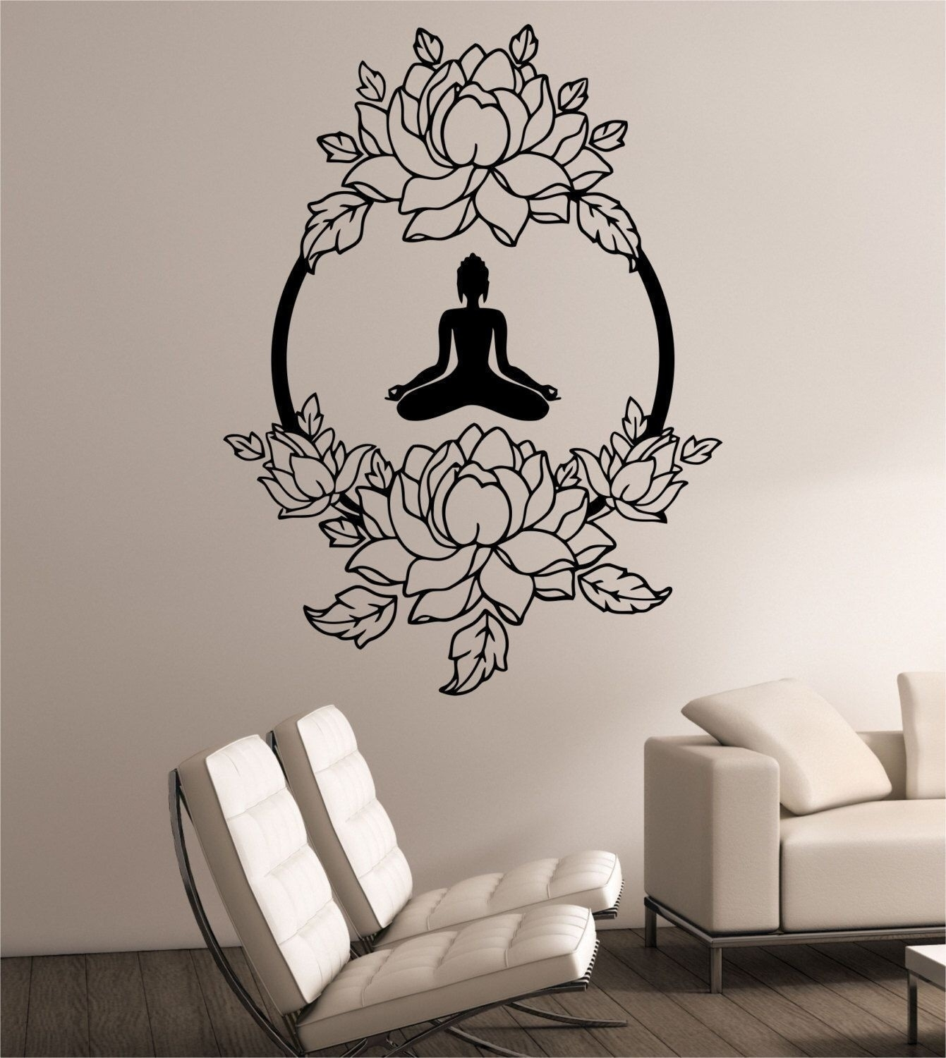 Luxury Tree Silhouette Vinyl Wall Art Decal | Northstarpilates For Stick On Wall Art (View 6 of 20)