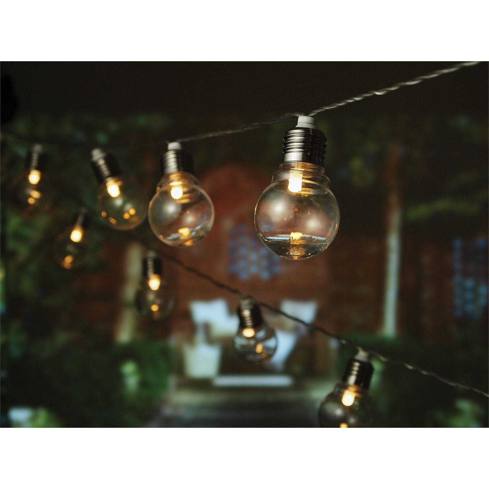 Lytworx Warm White Led Connectable Party Lights - 20 Pack | Neeks throughout Outdoor Lanterns at Bunnings (Image 13 of 20)