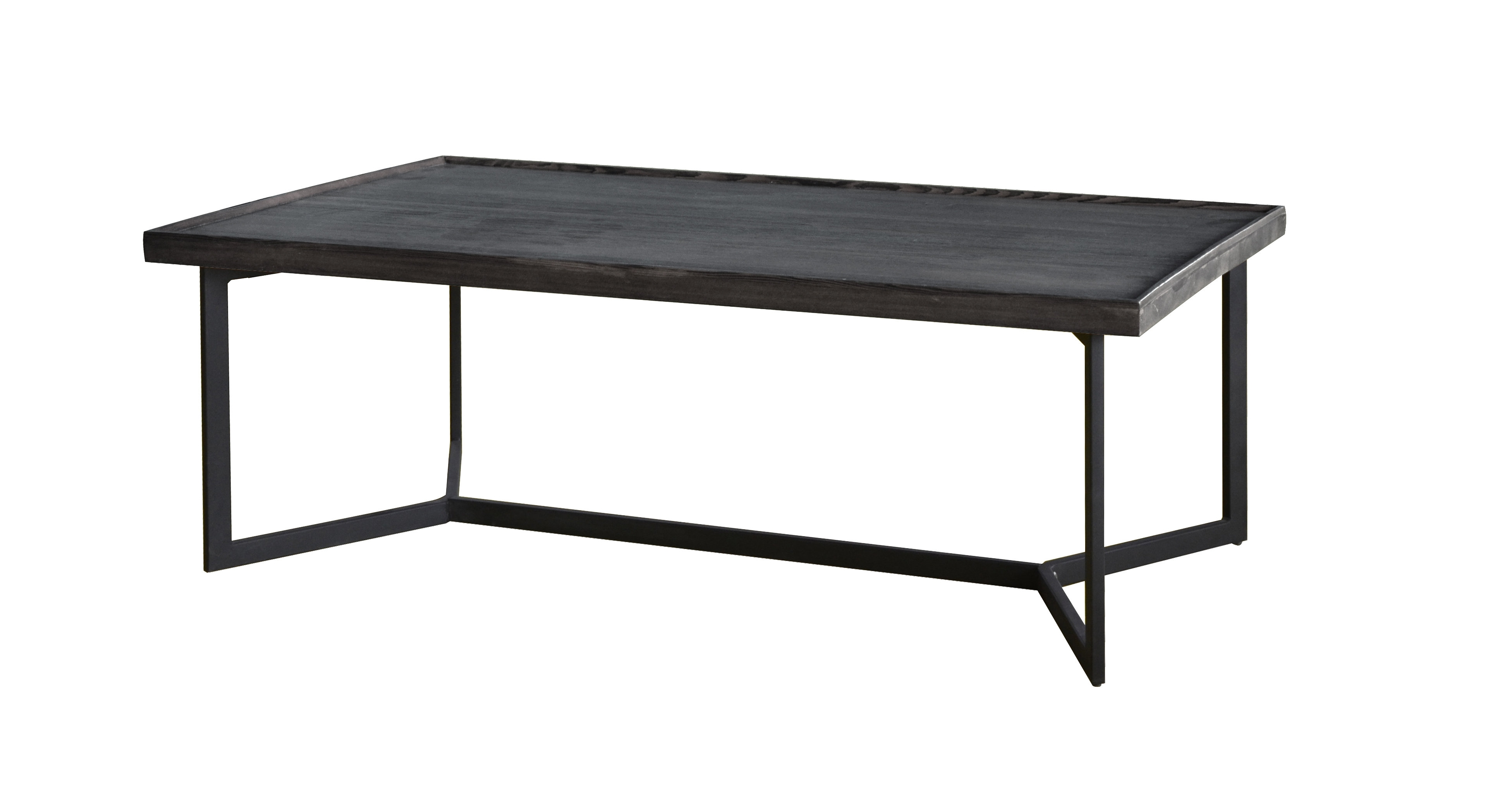Madison Home Usa Modern Rustic Coffee Table & Reviews | Wayfair throughout Modern Rustic Coffee Tables (Image 10 of 30)