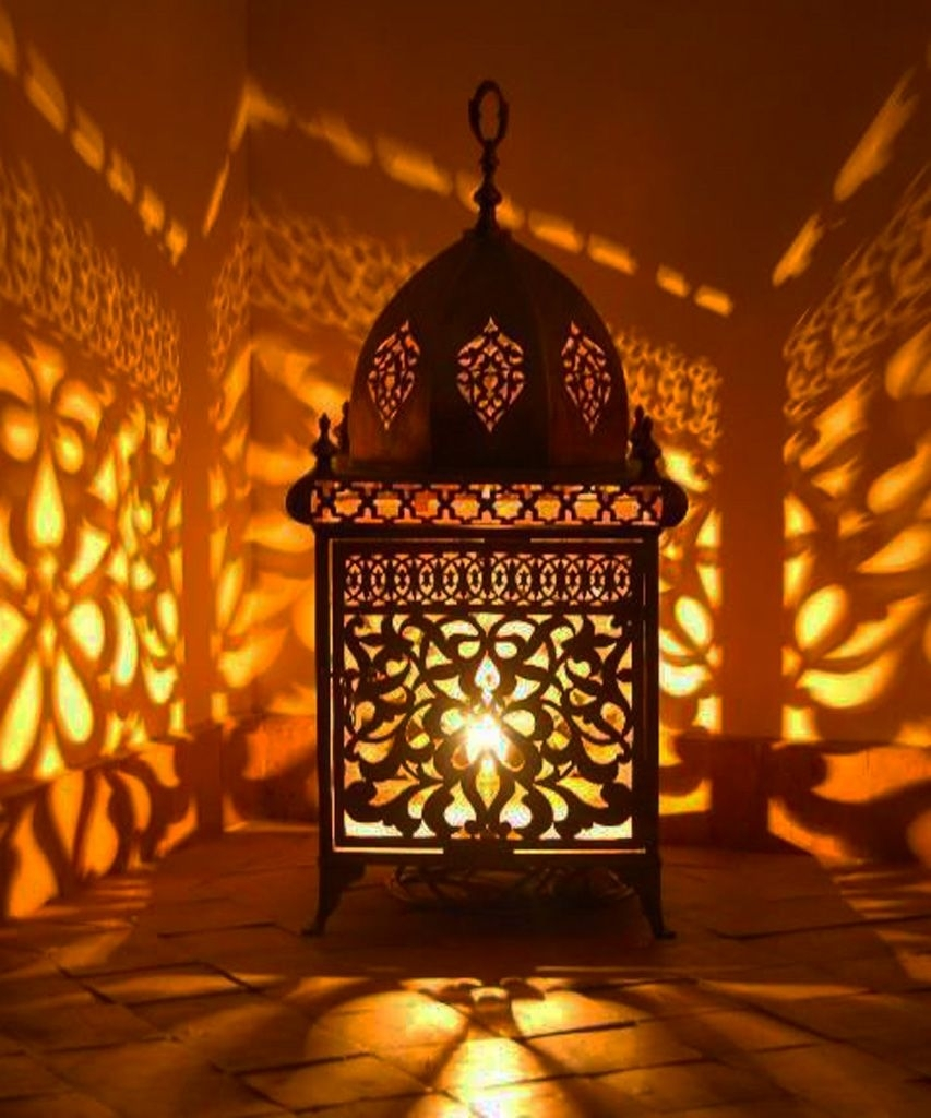 Making Moroccan Lamps With Flasks - Http://assb.dankellys/making for Moroccan Outdoor Lanterns (Image 11 of 20)