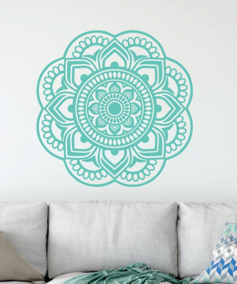 Mandala Wall Art Workshop – Mezany for Mandala Wall Art (Image 14 of 20)