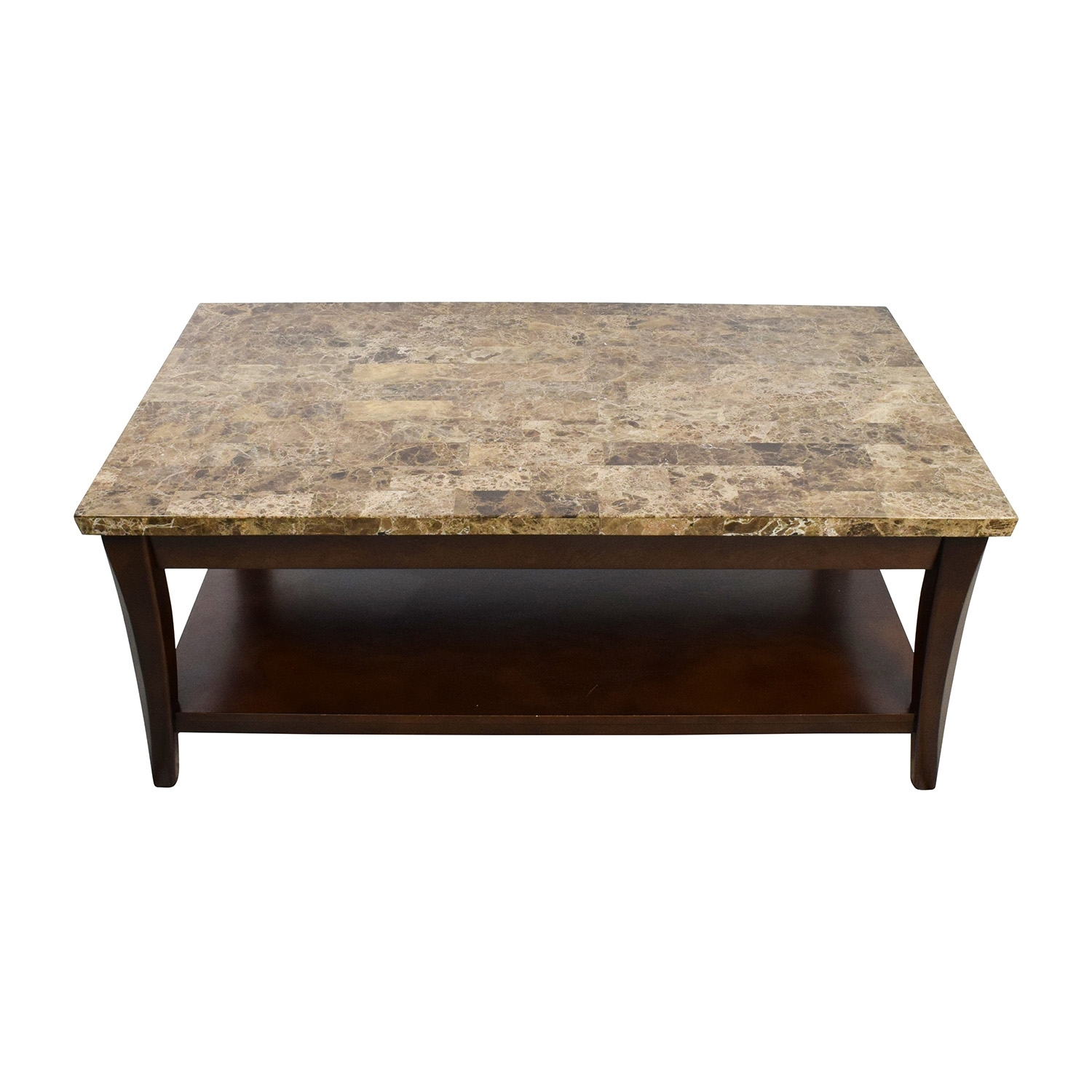Marble And Wood Coffee Tables - Damabianca regarding Alcide Rectangular Marble Coffee Tables (Image 9 of 30)