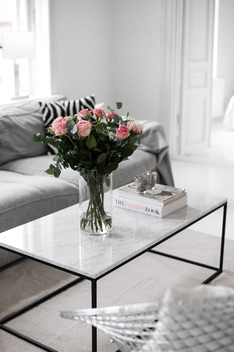 Marble Coffee Tables For Every Budget - The Everygirl throughout 2 Tone Grey and White Marble Coffee Tables (Image 18 of 30)