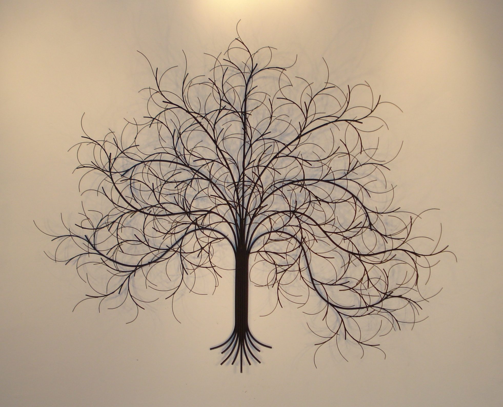 March Tree Metal Wall Art – Metal Sculpture And Wall Decor – Gurtan In Metal Wall Art Decors (View 11 of 20)