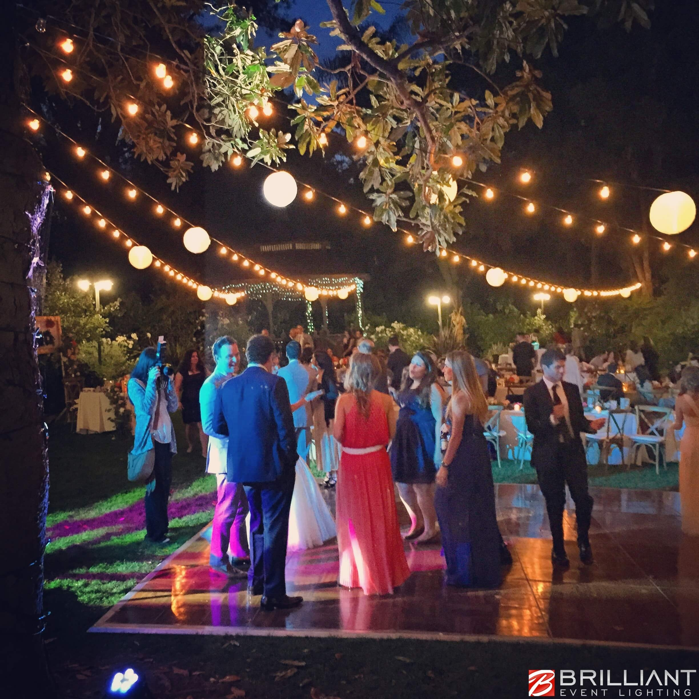 Market Lights, Party, Globe & Patio String Lights Outdoor with Outdoor Lanterns For Wedding (Image 11 of 20)
