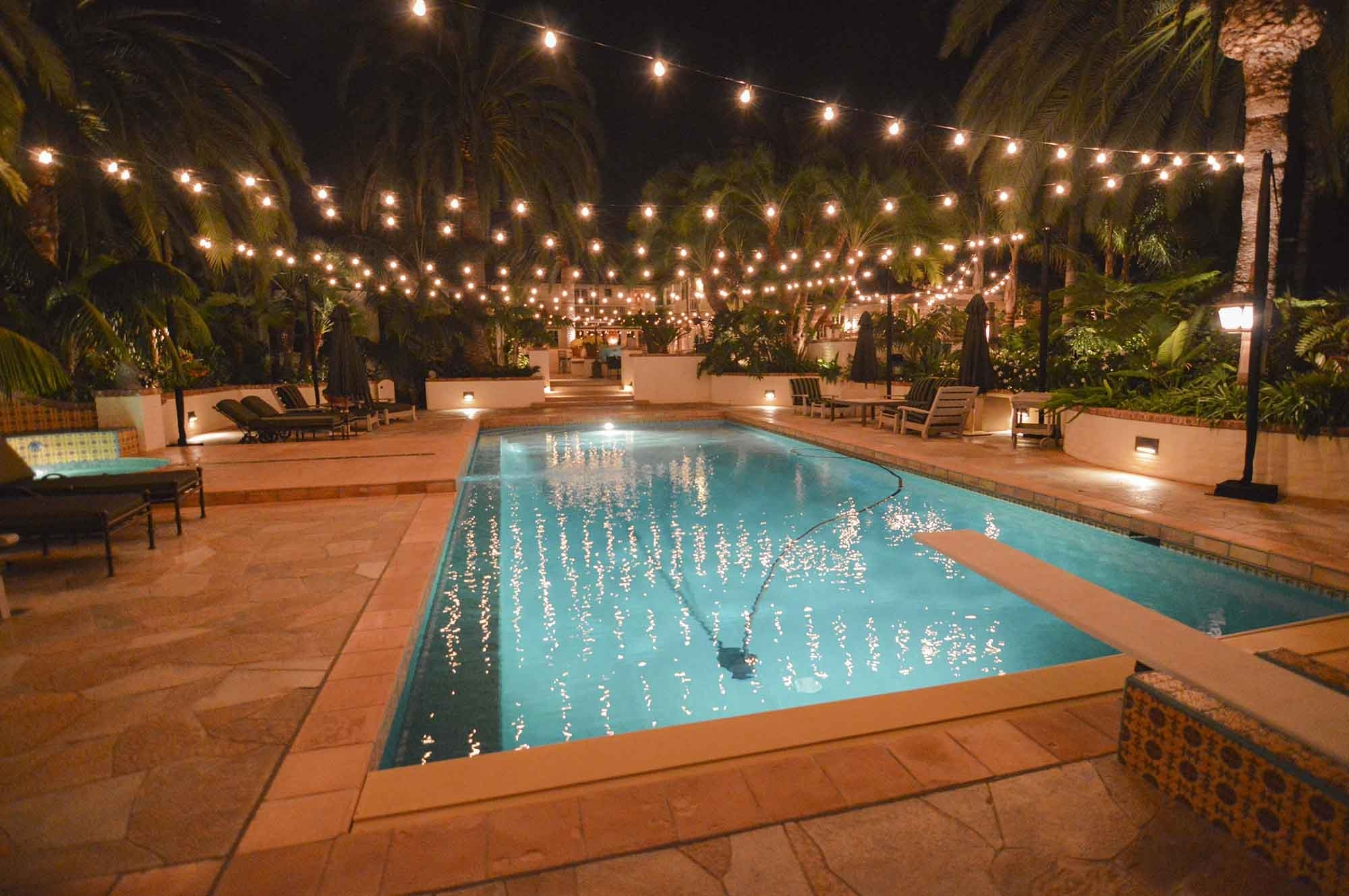 Market Lights, Party, Globe & Patio String Lights Outdoor within Outdoor Pool Lanterns (Image 16 of 20)