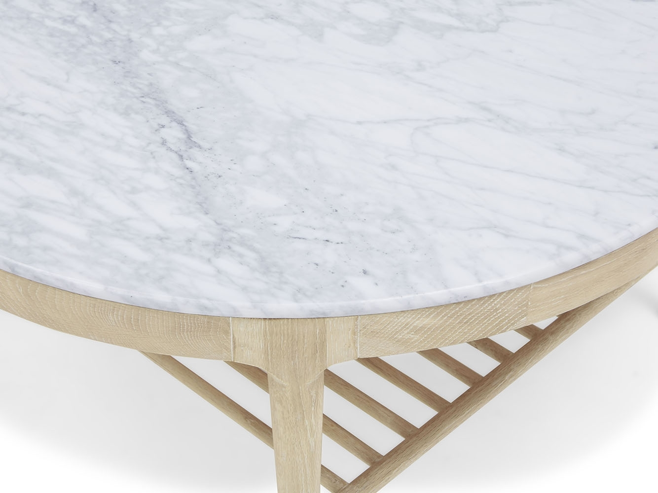 Marmo Coffee Table | Marble Top Coffee Table | Loaf inside Parker Oval Marble Coffee Tables (Image 13 of 30)