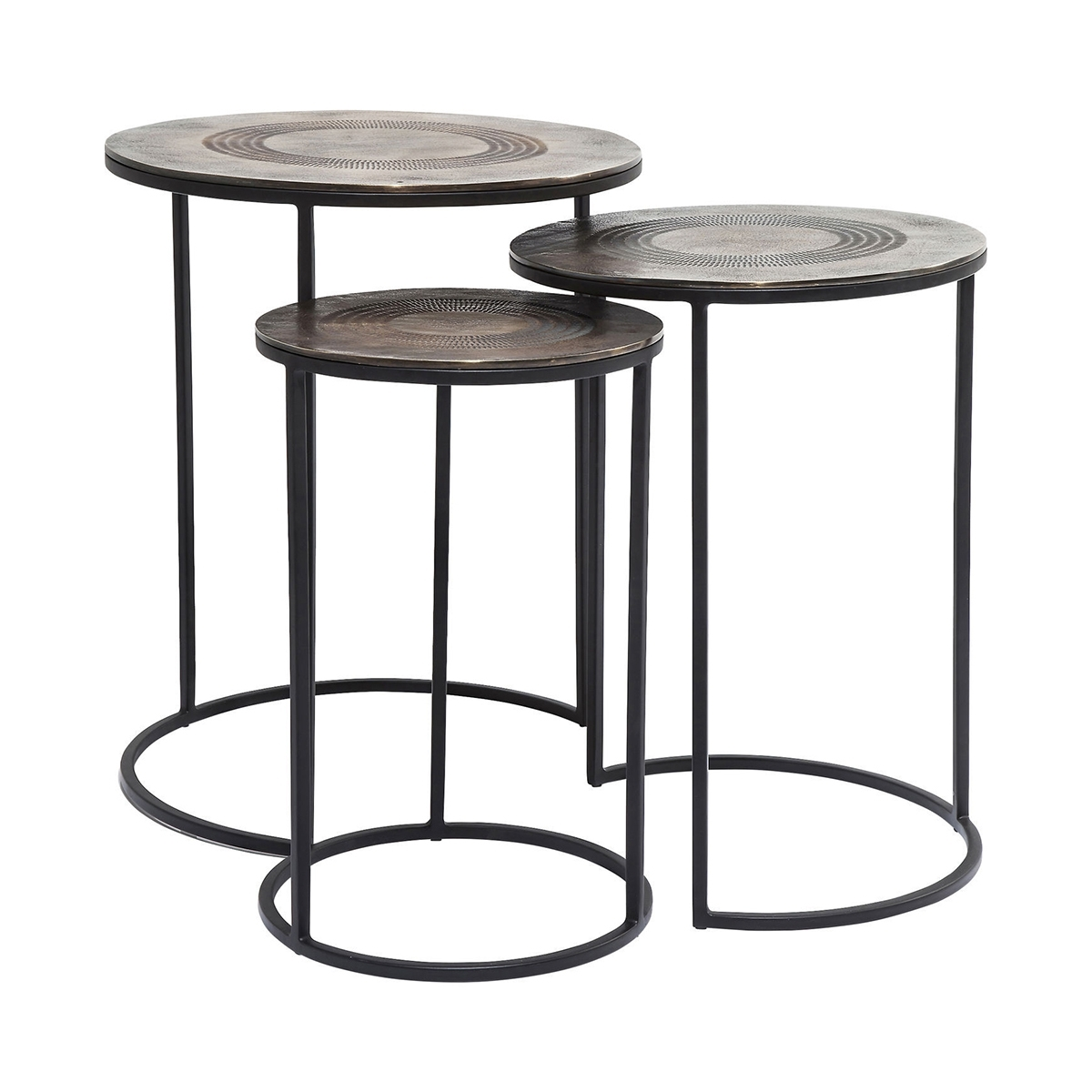 Marrakesh Side Table (3/set) • Woo .design intended for Marrakesh Side Tables (Image 13 of 30)